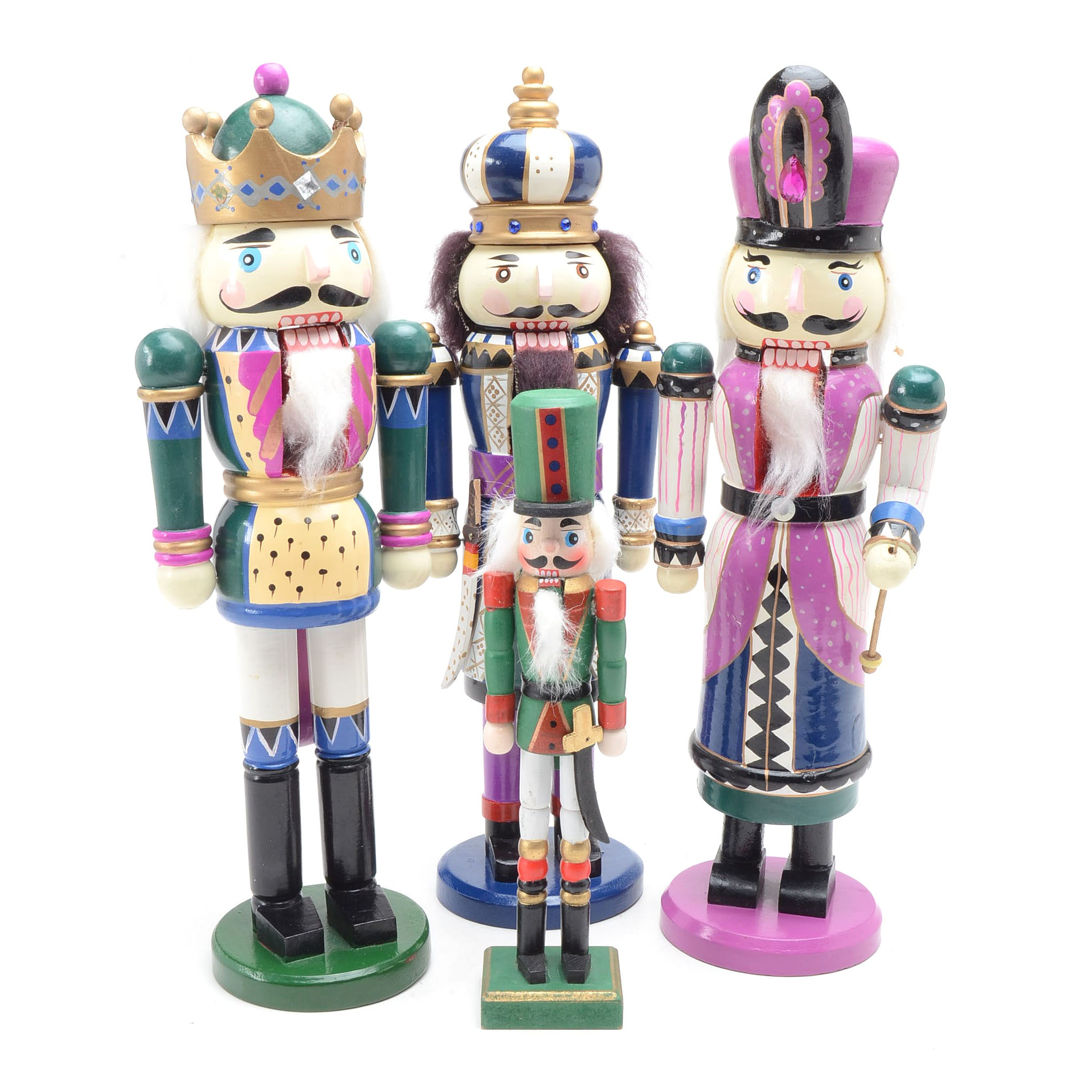 Wooden Holiday Nutcrackers