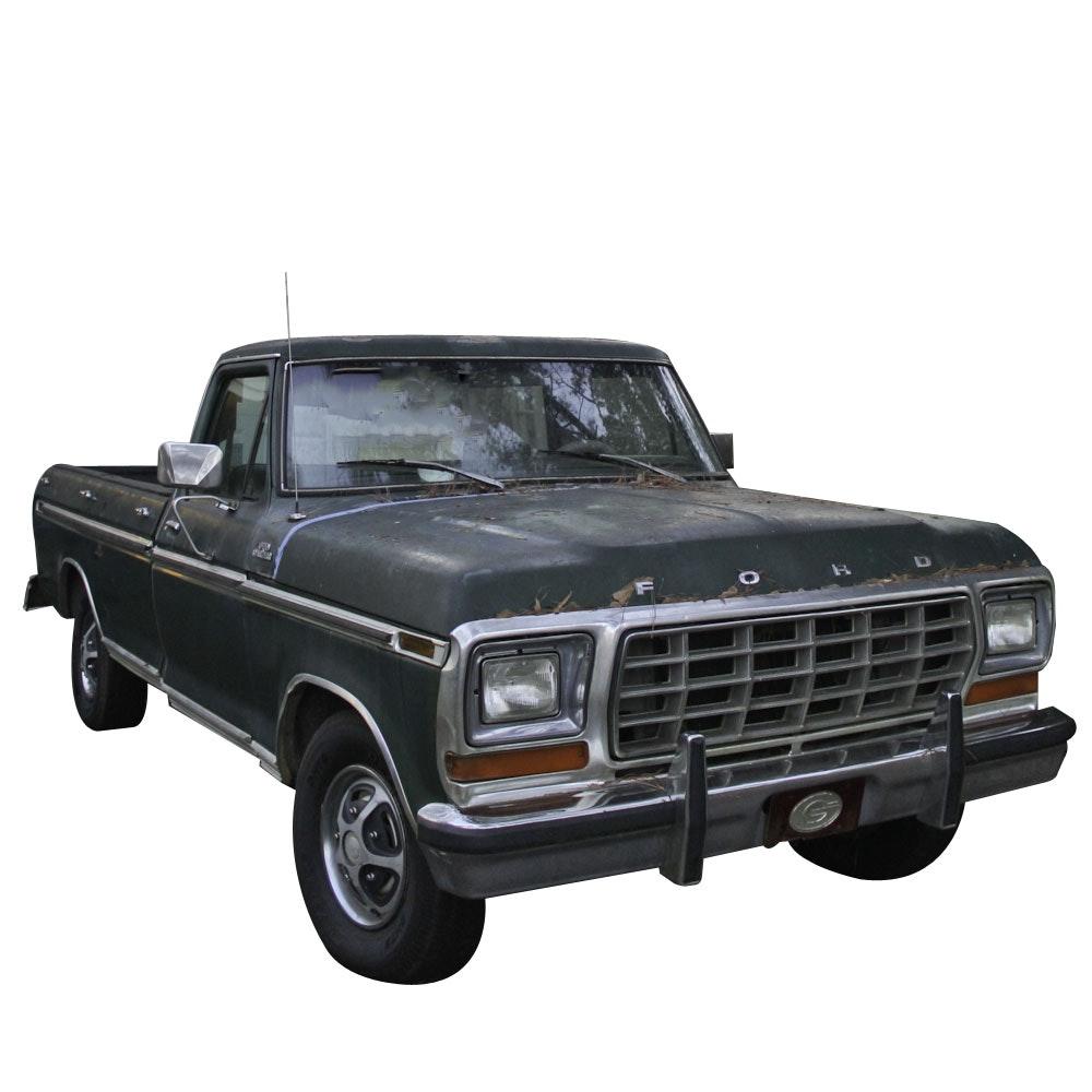 1979 Ford F100 Ranger Pickup Truck