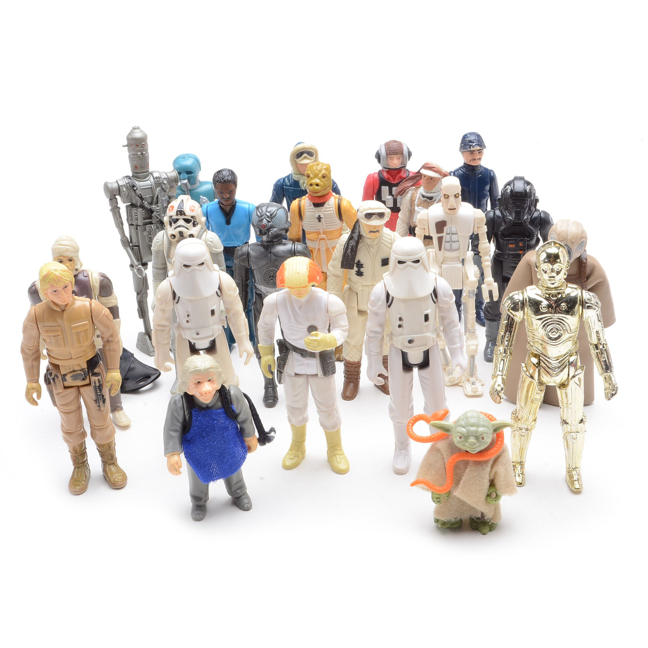 Collection of Vintage Empire Strikes Back Figures