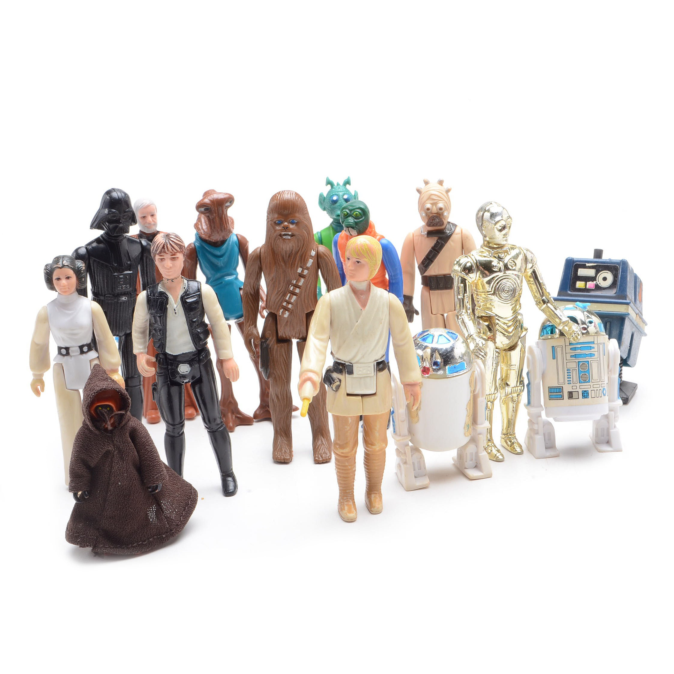 Collection of Vintage Star Wars Figures