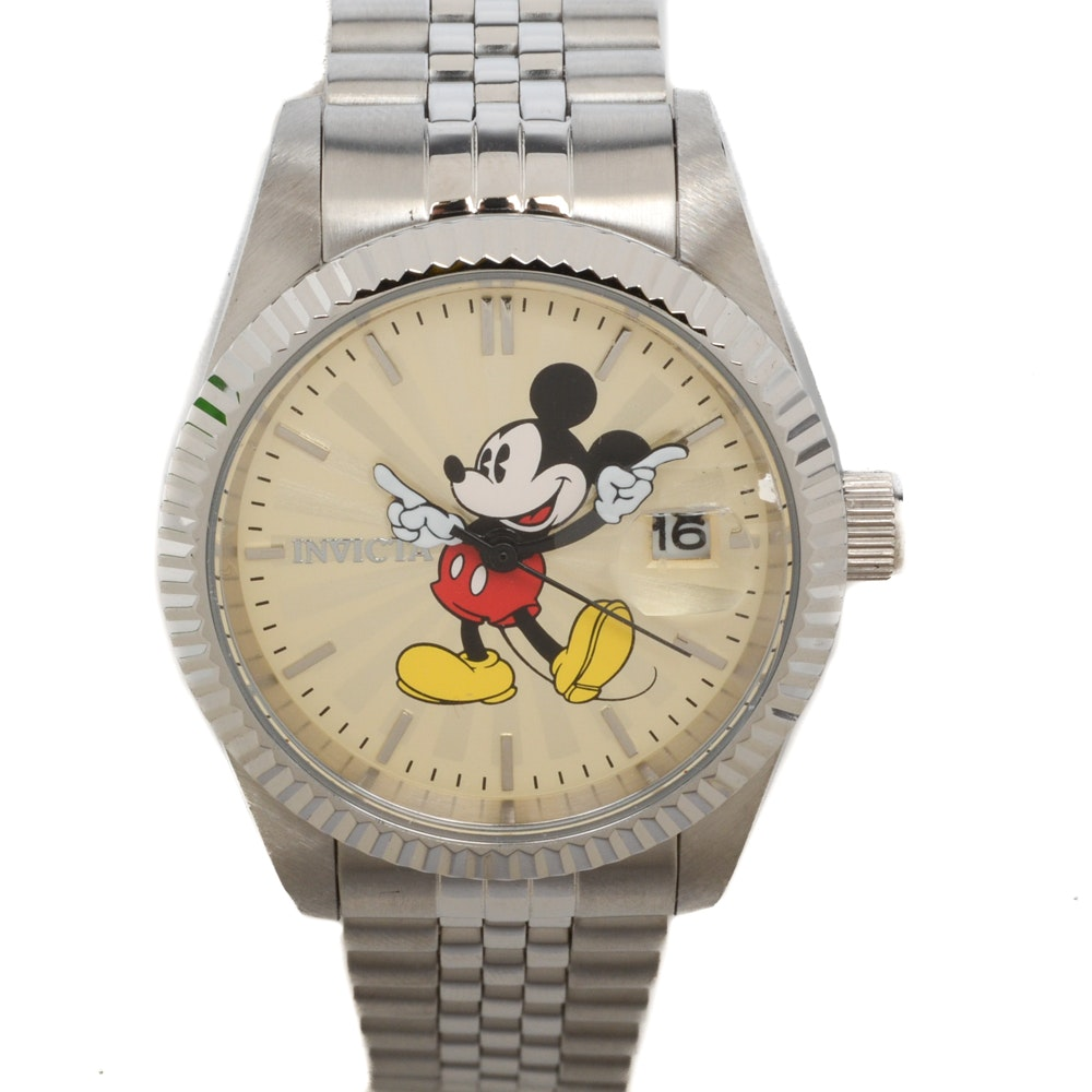 Invicta Limited Edition Disney Wristwatch with Mickey Mouse
