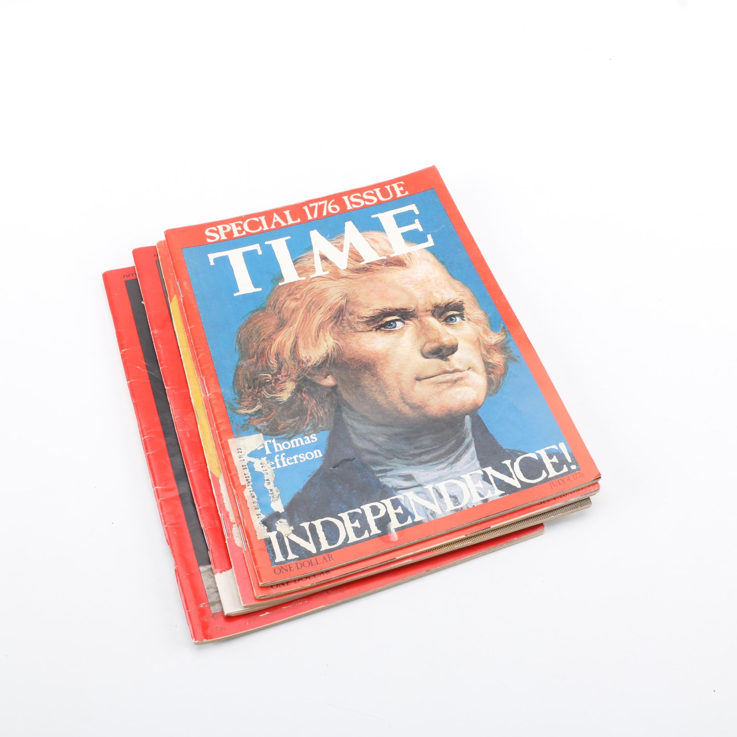 """Assorted """"Time"""" Magazines"""