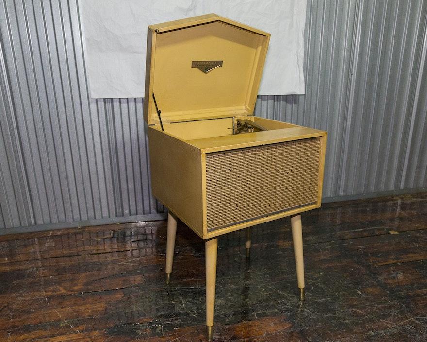 Mid century modern dumont high fidelity console ebth for Century 21 domont