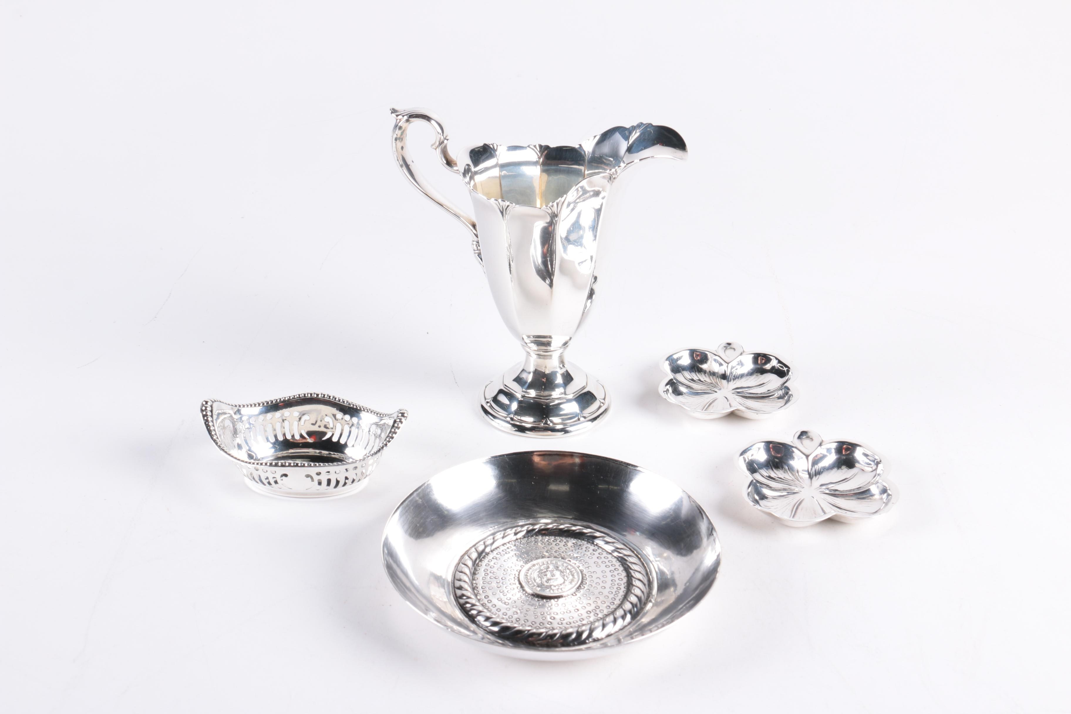 Gorham and Lenox Sterling Tableware with Peruvian 1866 1/5 Sol Sterling Bowl ...  sc 1 st  EBTH.com & Gorham and Lenox Sterling Tableware with Peruvian 1866 1/5 Sol ...