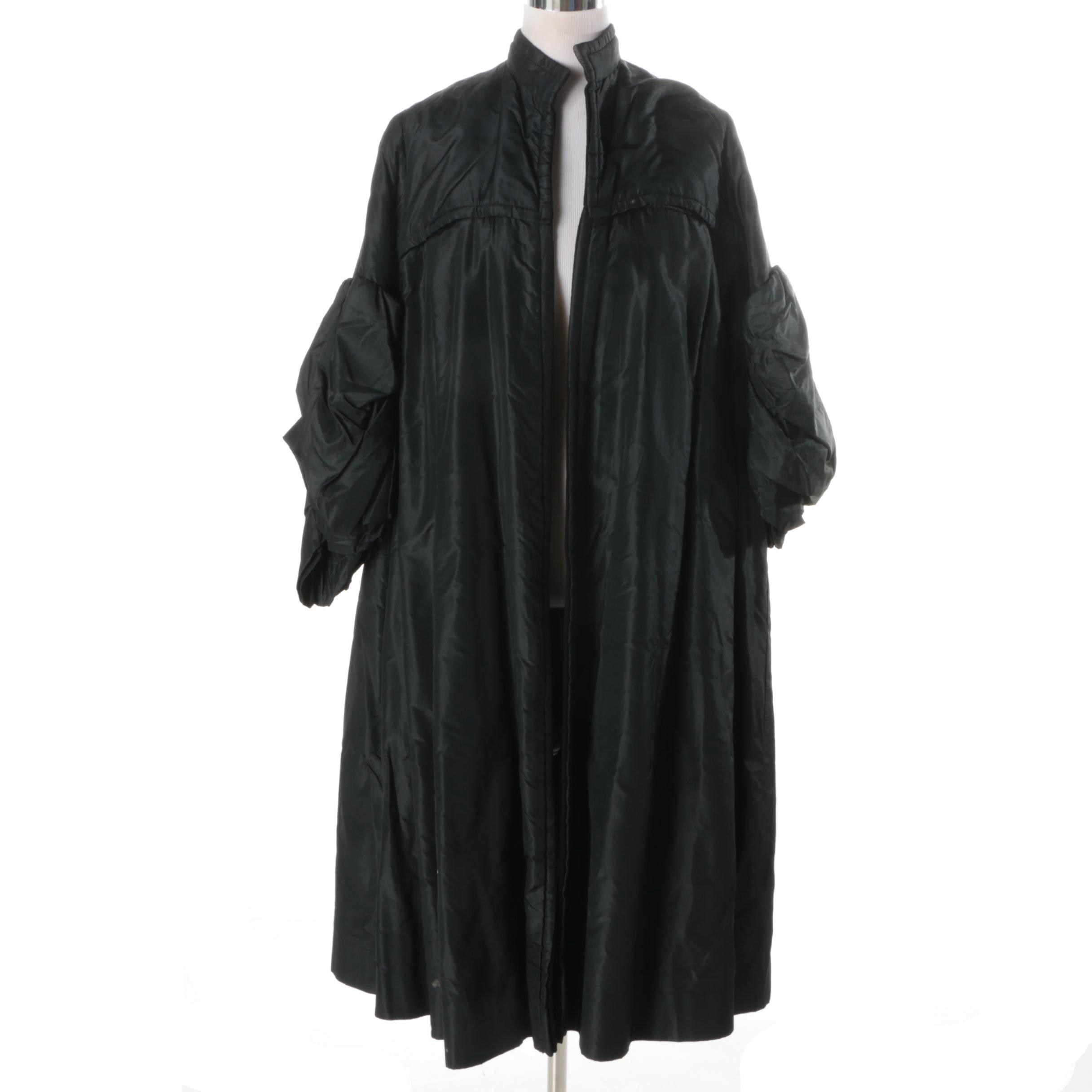 Women's Vintage Chinese Silk Coat