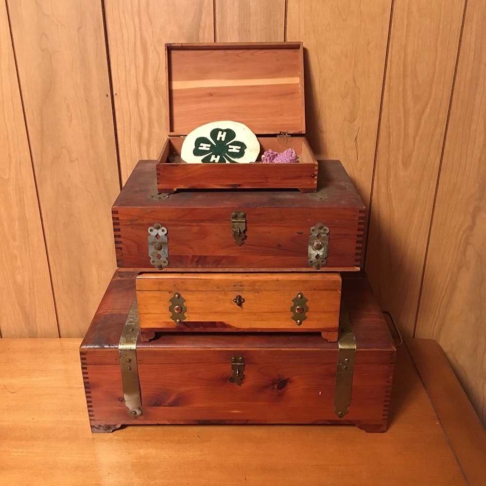 Wooden Boxes and Chests