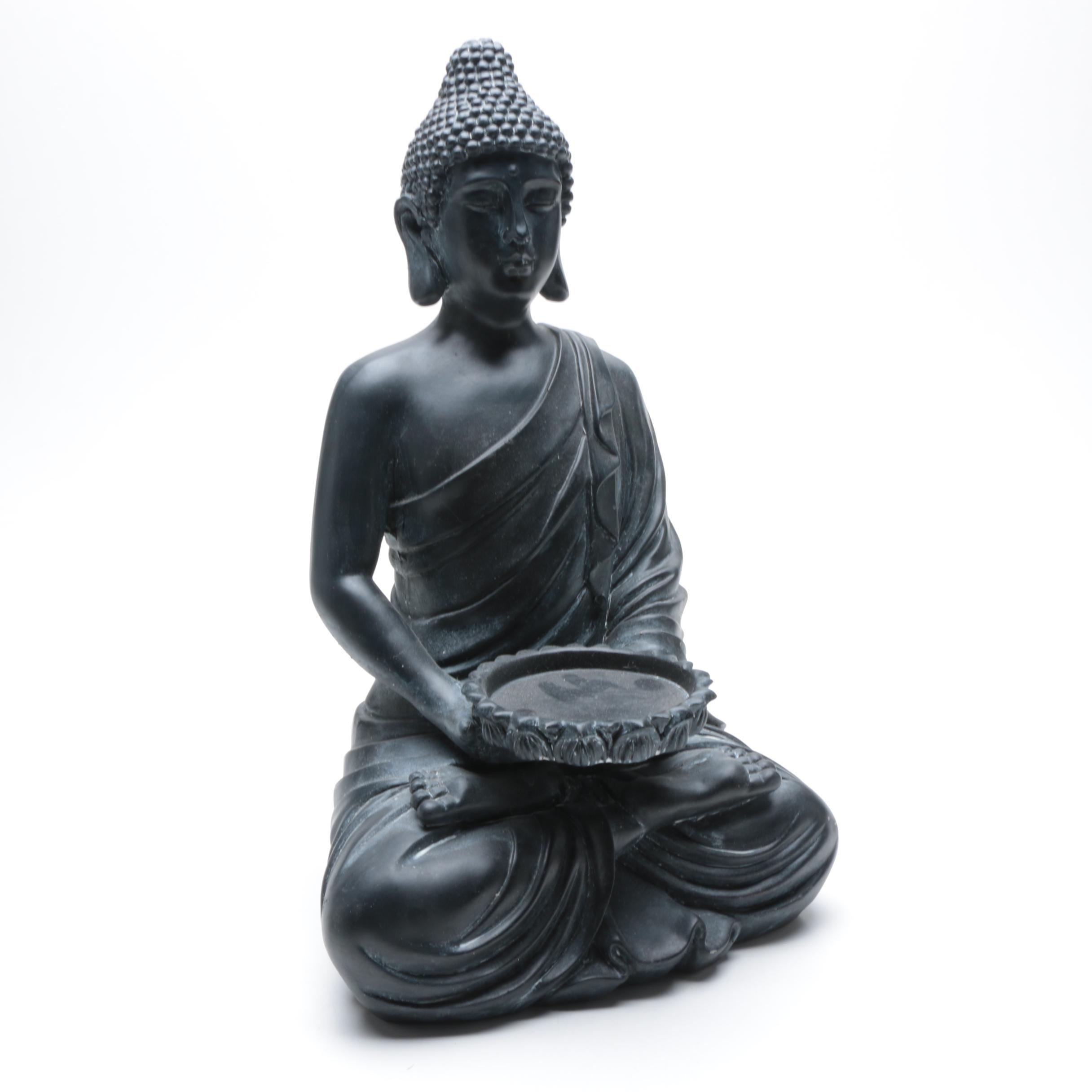 Large Buddha Statuette