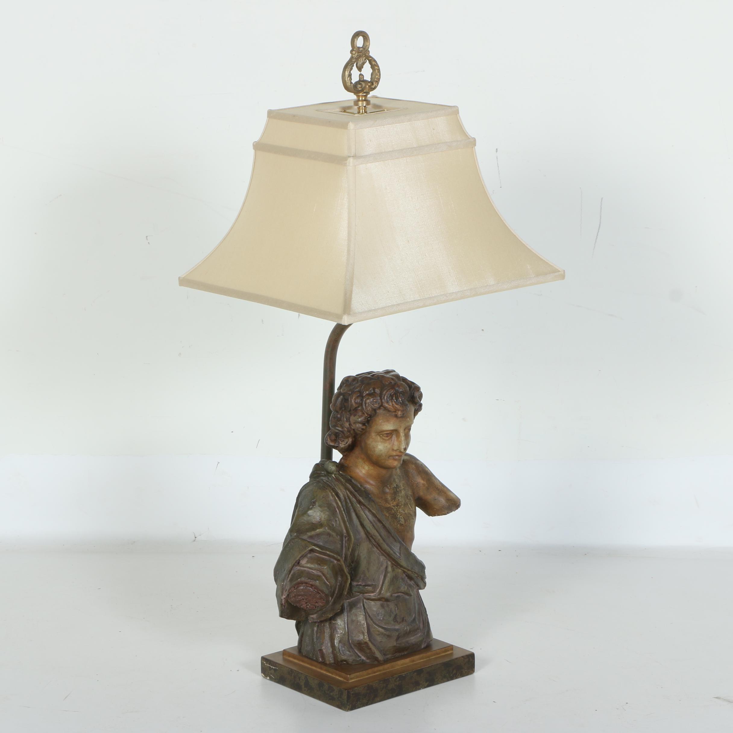 John - Richard Figural Table Lamp