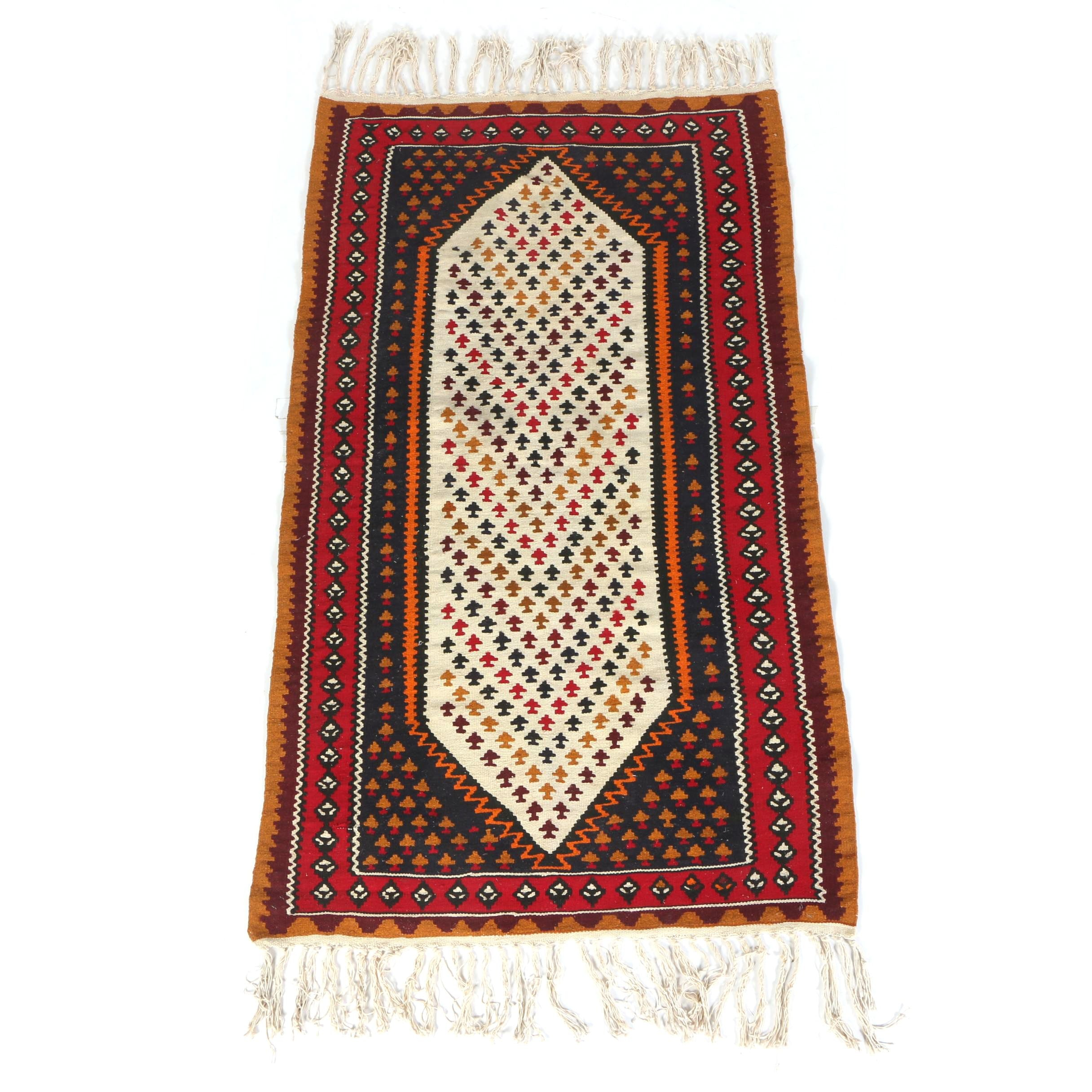 Handwoven Turkish Area Kilim