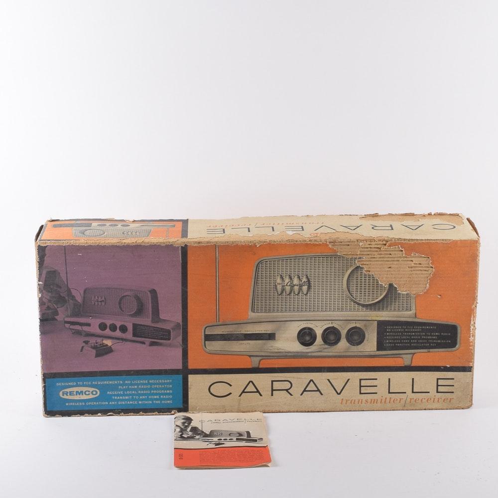 "Vintage Remco ""Caravelle"" Radio Transmitter/Receiver"