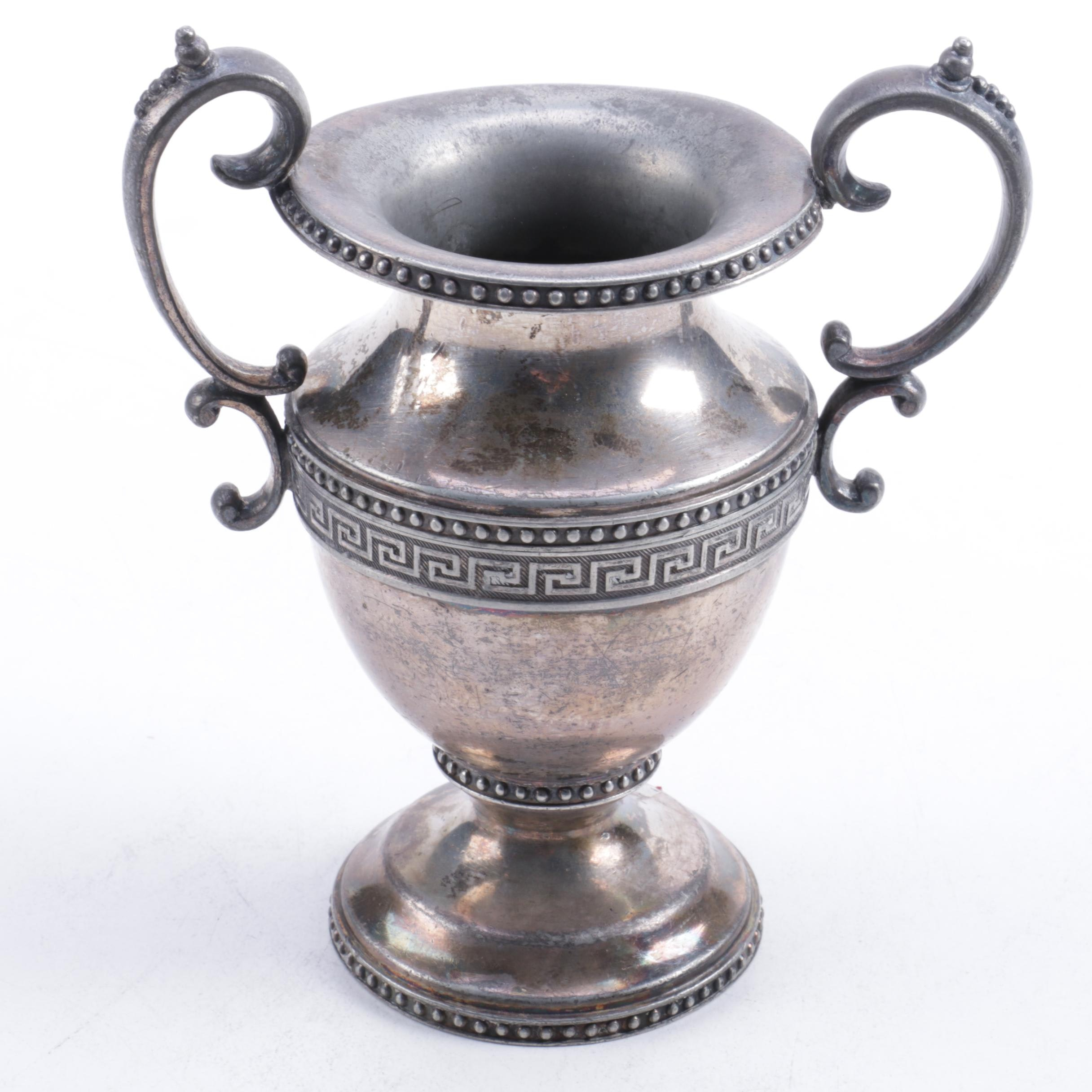Middletown Plate Company Classical Style Silver Plate Urn