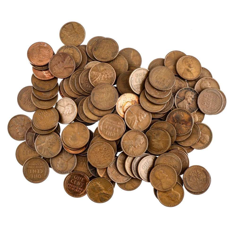 131 Lincoln Wheat Cents