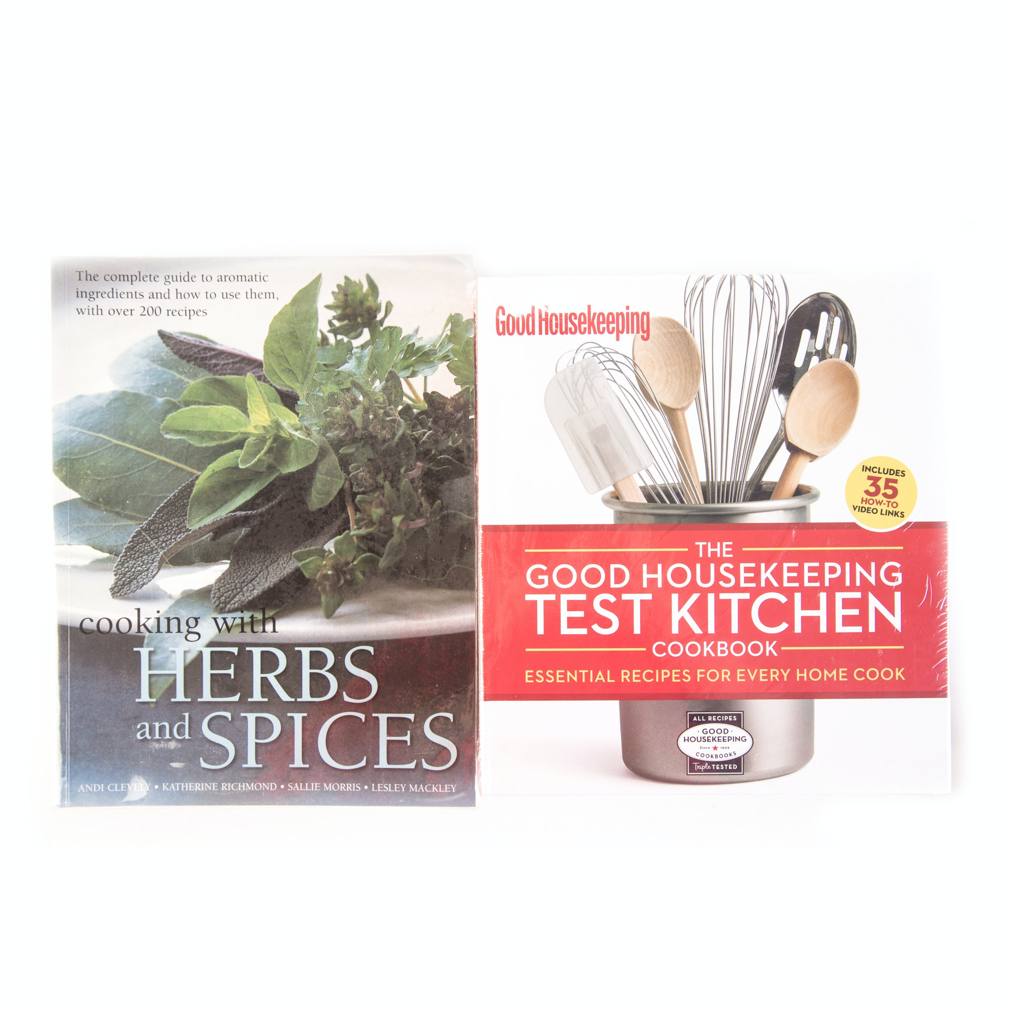 "Pair of Cookbooks Including the ""Good Housekeeping Test Kitchen"""