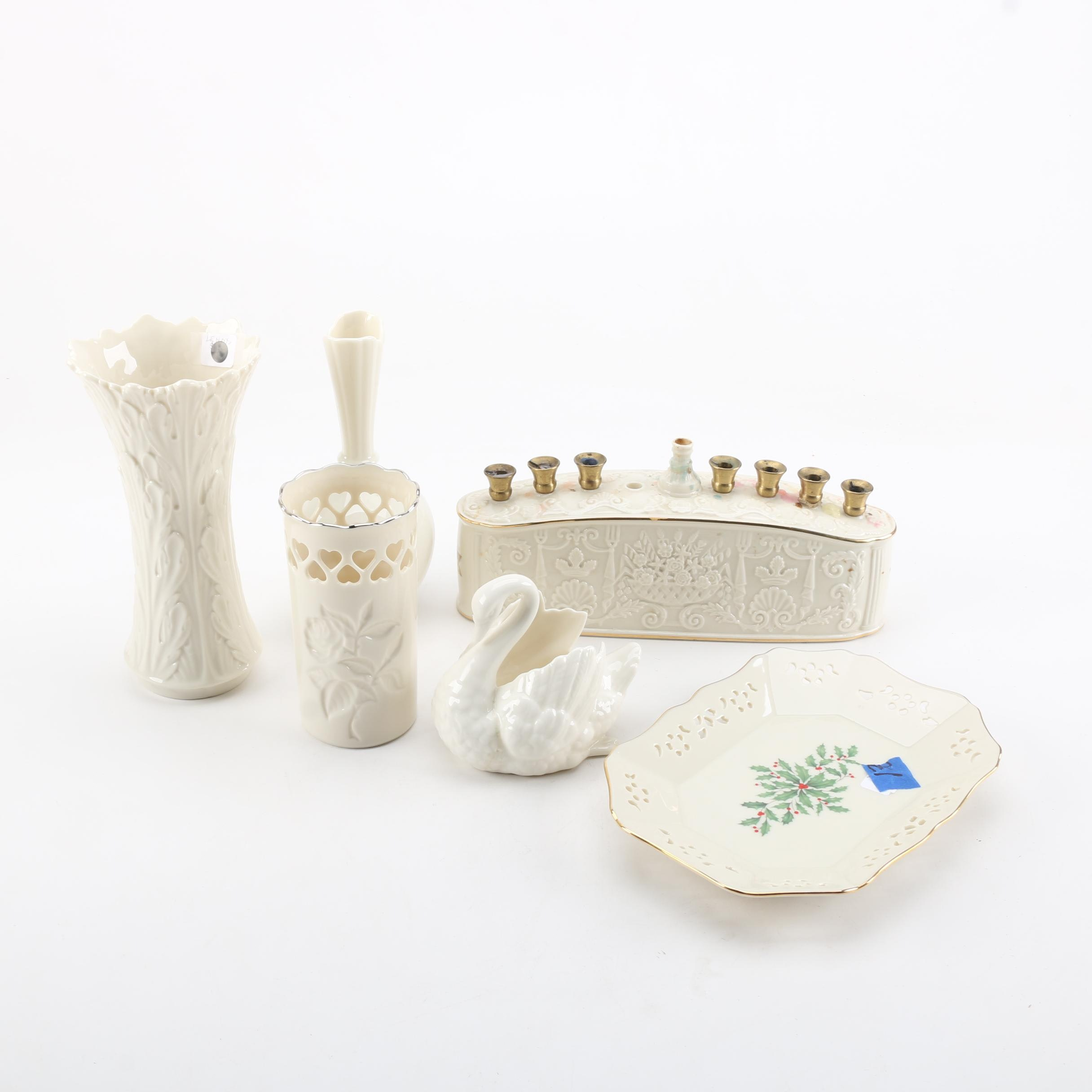 Collection of Lenox China Pieces