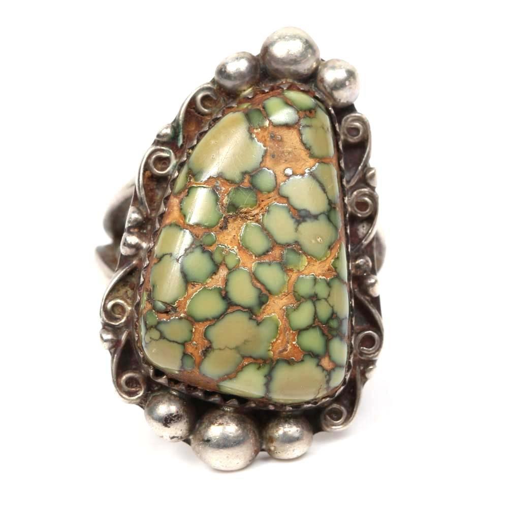 Billie Luzy Sterling Silver Stone Ring