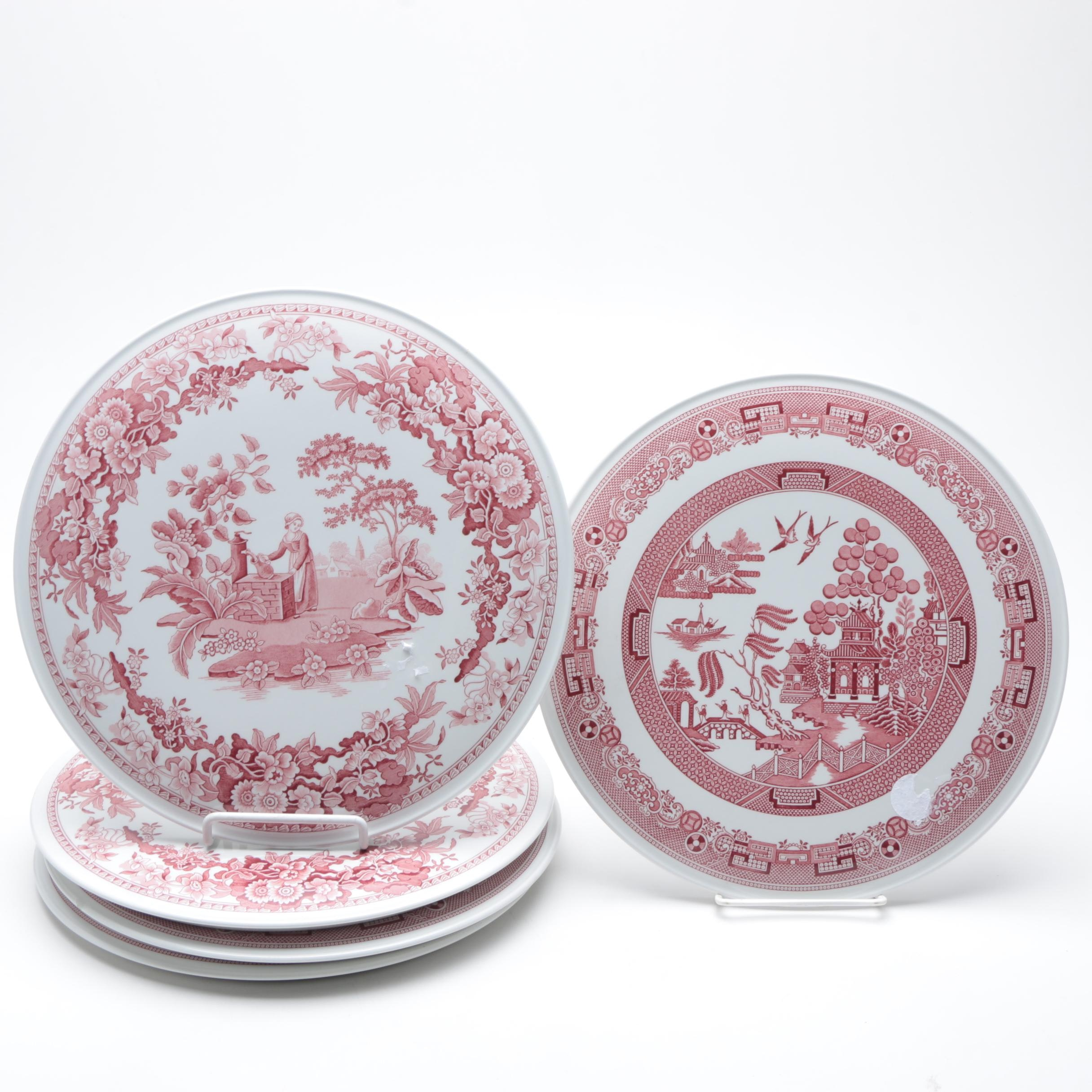 """Spode Archive Collection """"Georgian Series"""" Porcelain Small Plates"""