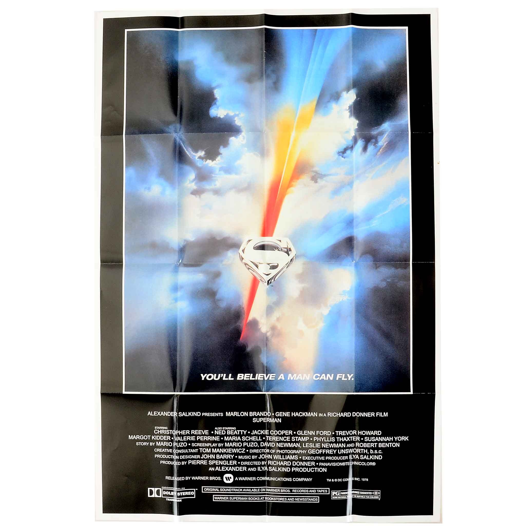 1978 Superman Poster