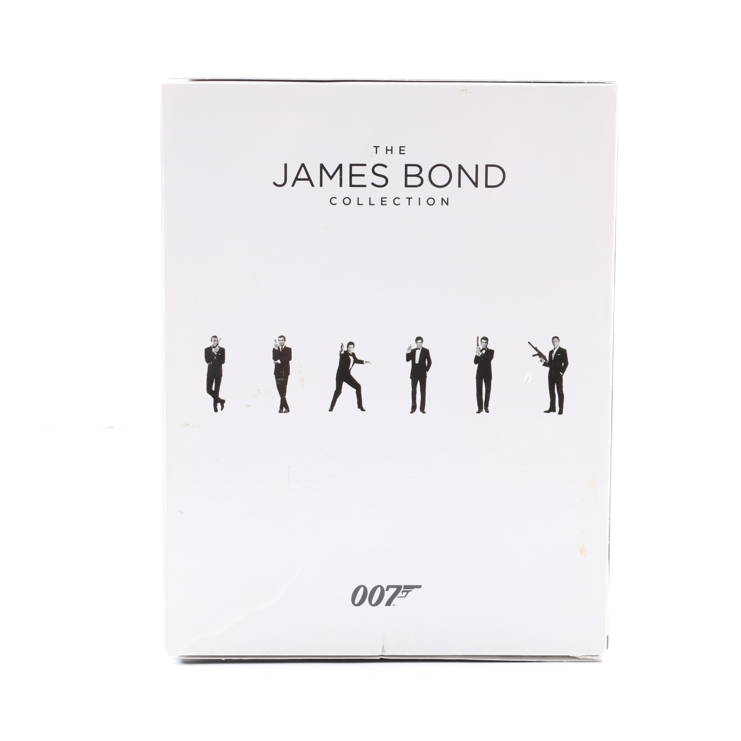 """The James Bond Collection"" Blu-Ray Box Set"