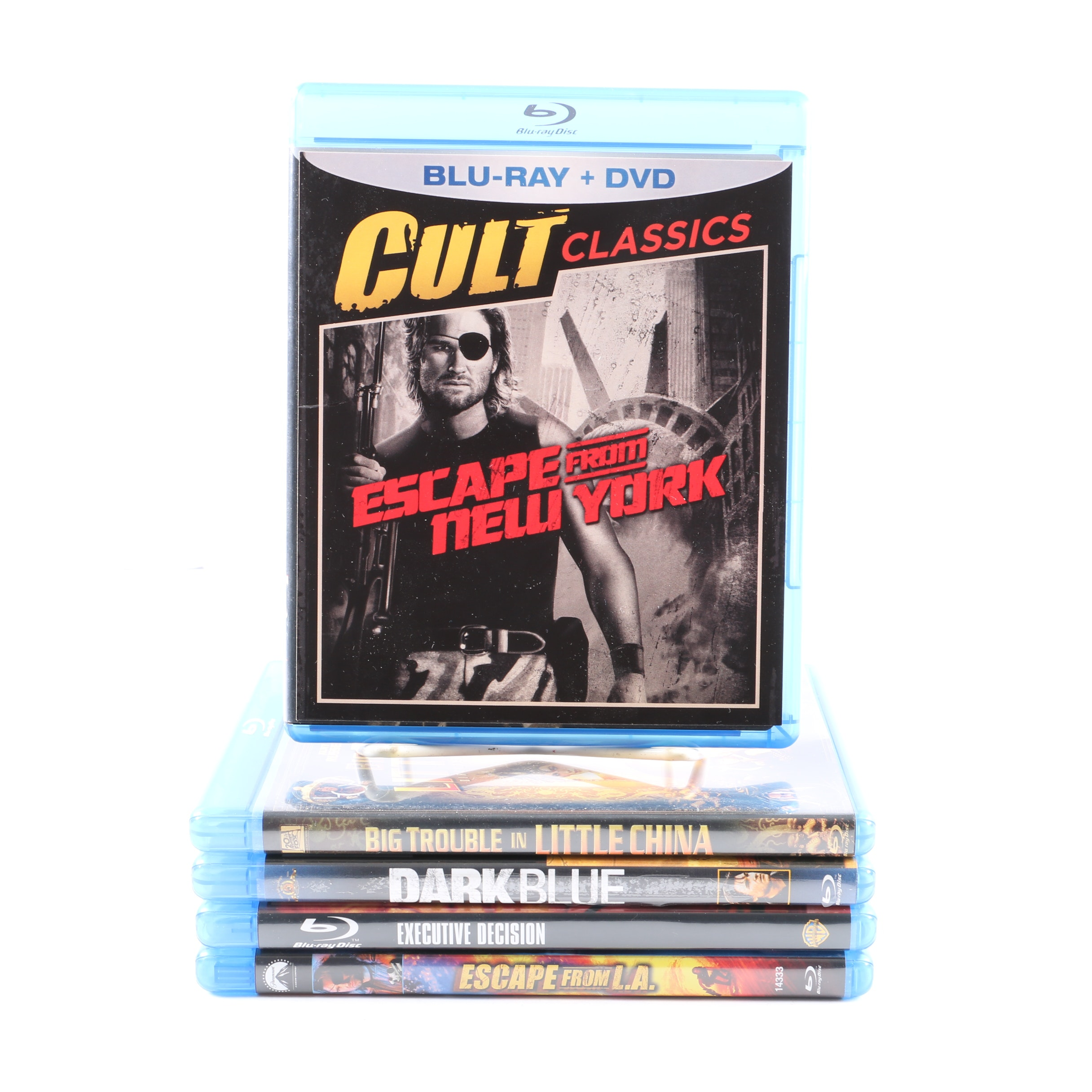 Kurt Russell Films On Blu-Ray