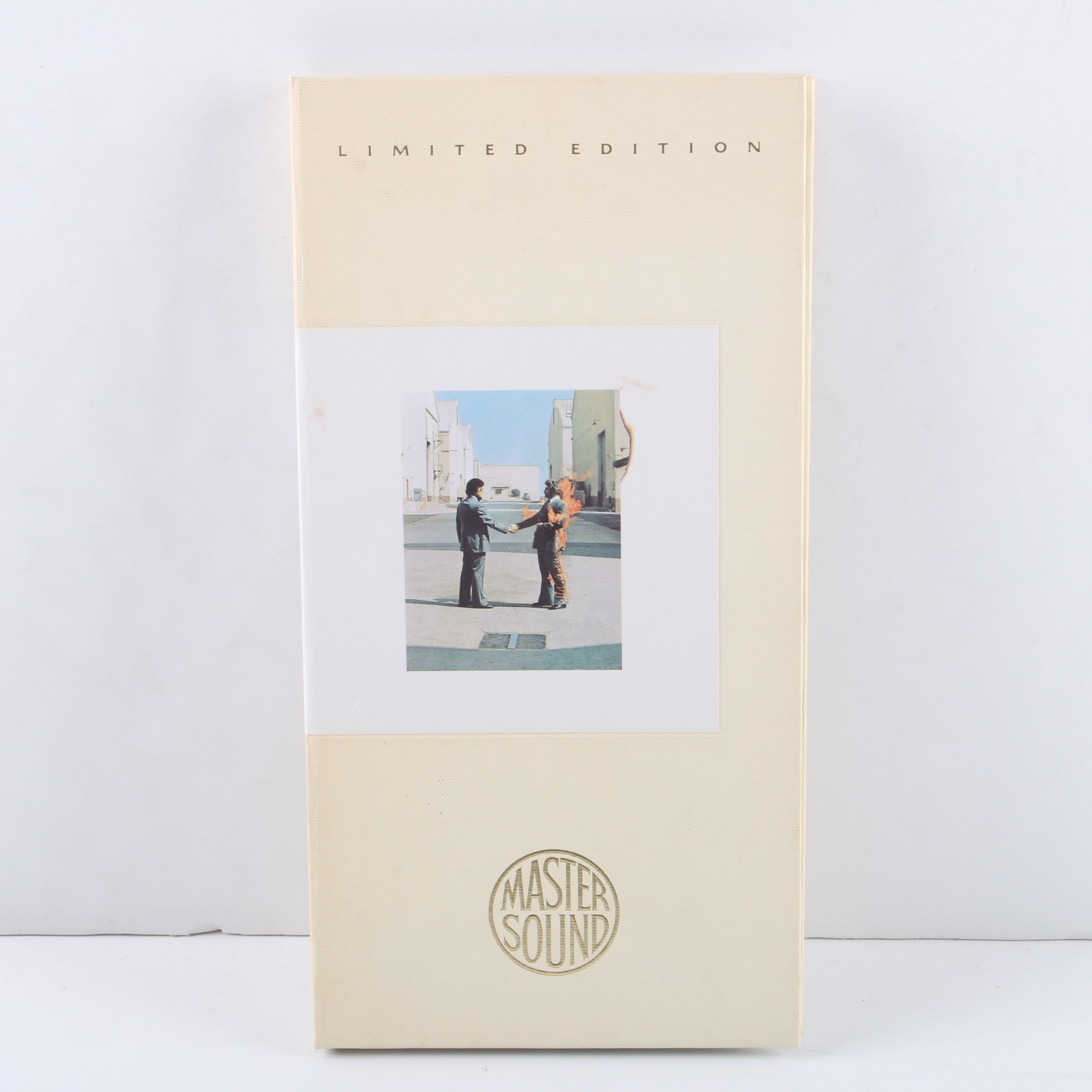 """Pink Floyd """"Wish You Were Here"""" MasterSound Limited Edition 24kt Gold Plated CD"""