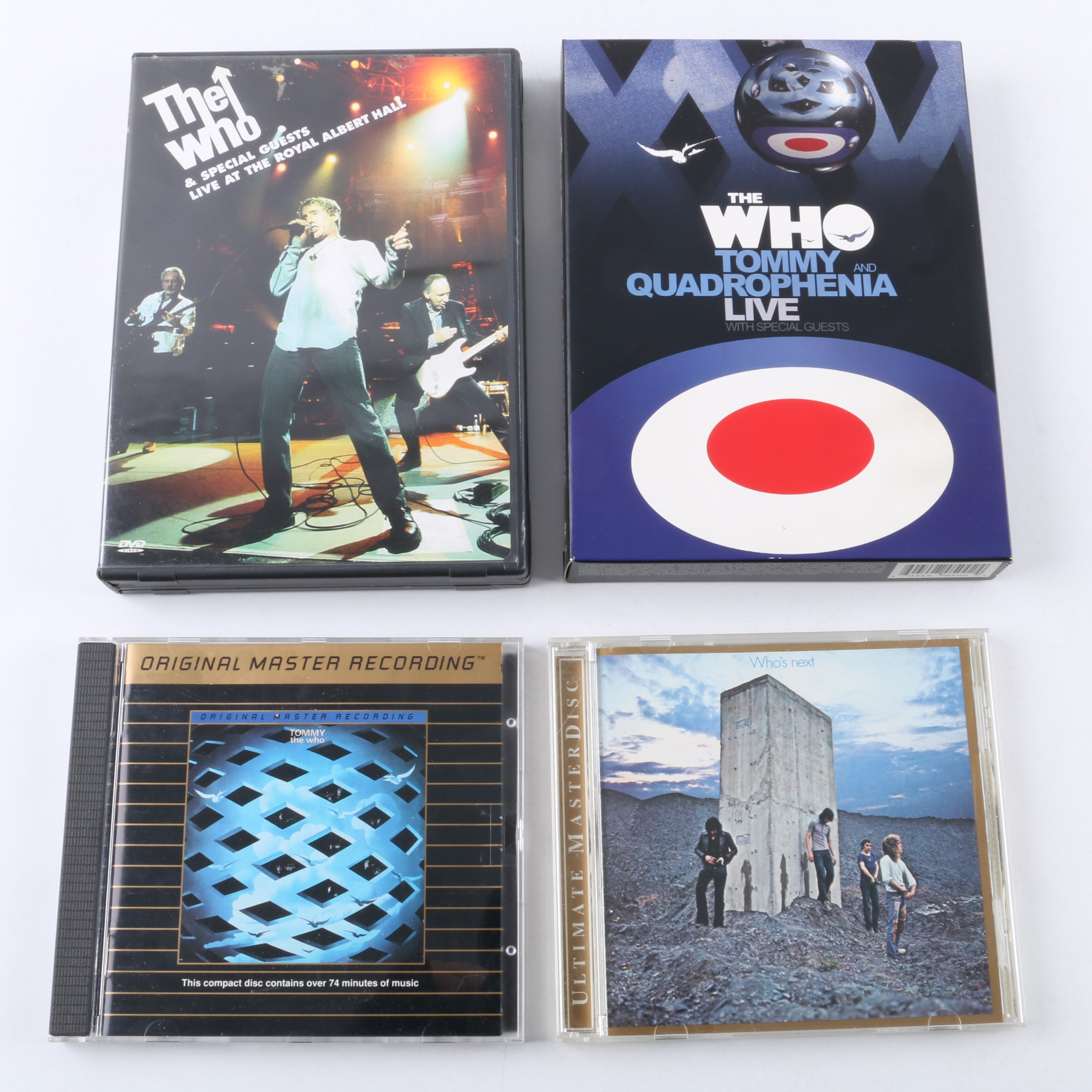 """The Who CDs and DVDs Including """"Who's Next"""" Original Master Recording"""