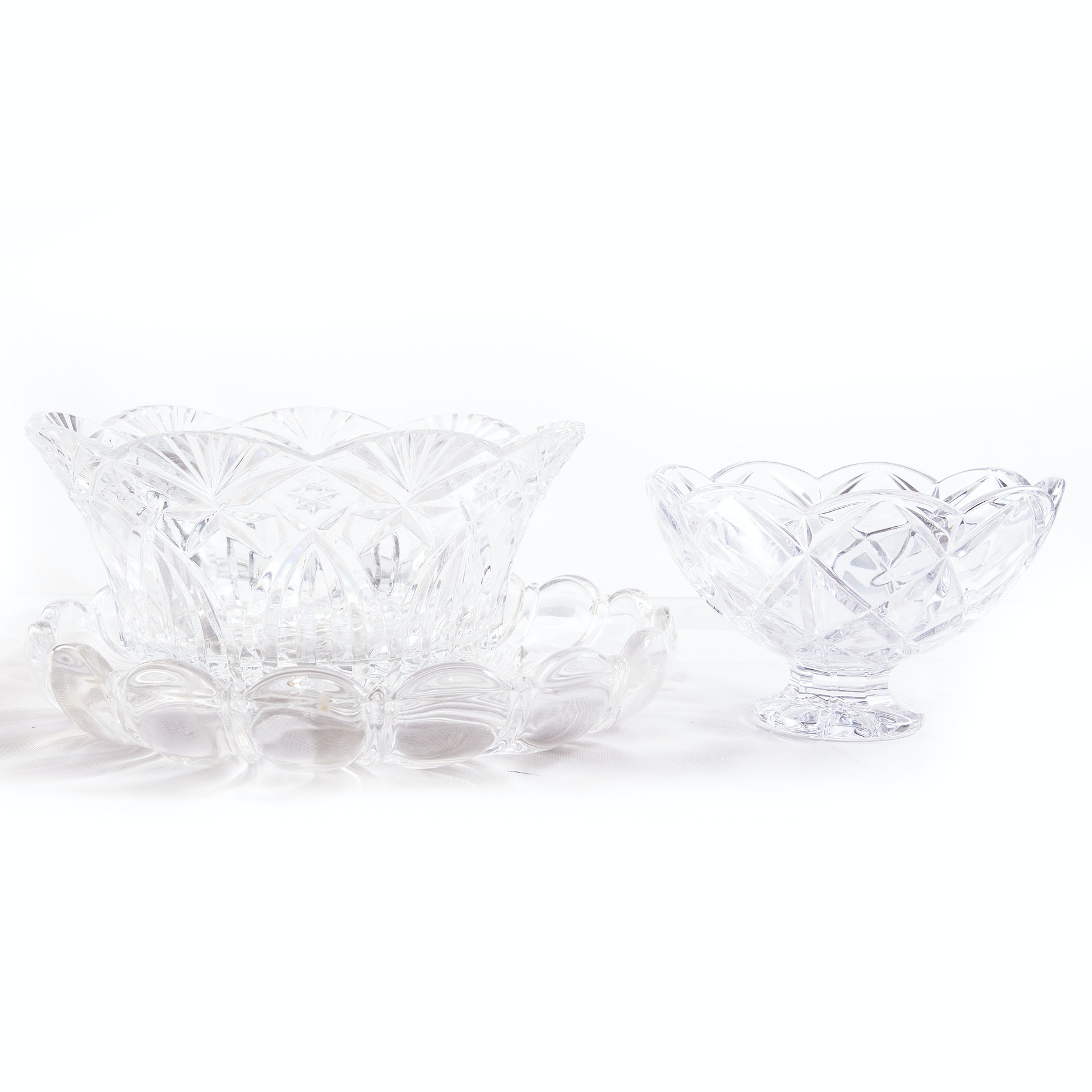 Glass and Crystal Serveware including Marquis by Waterford
