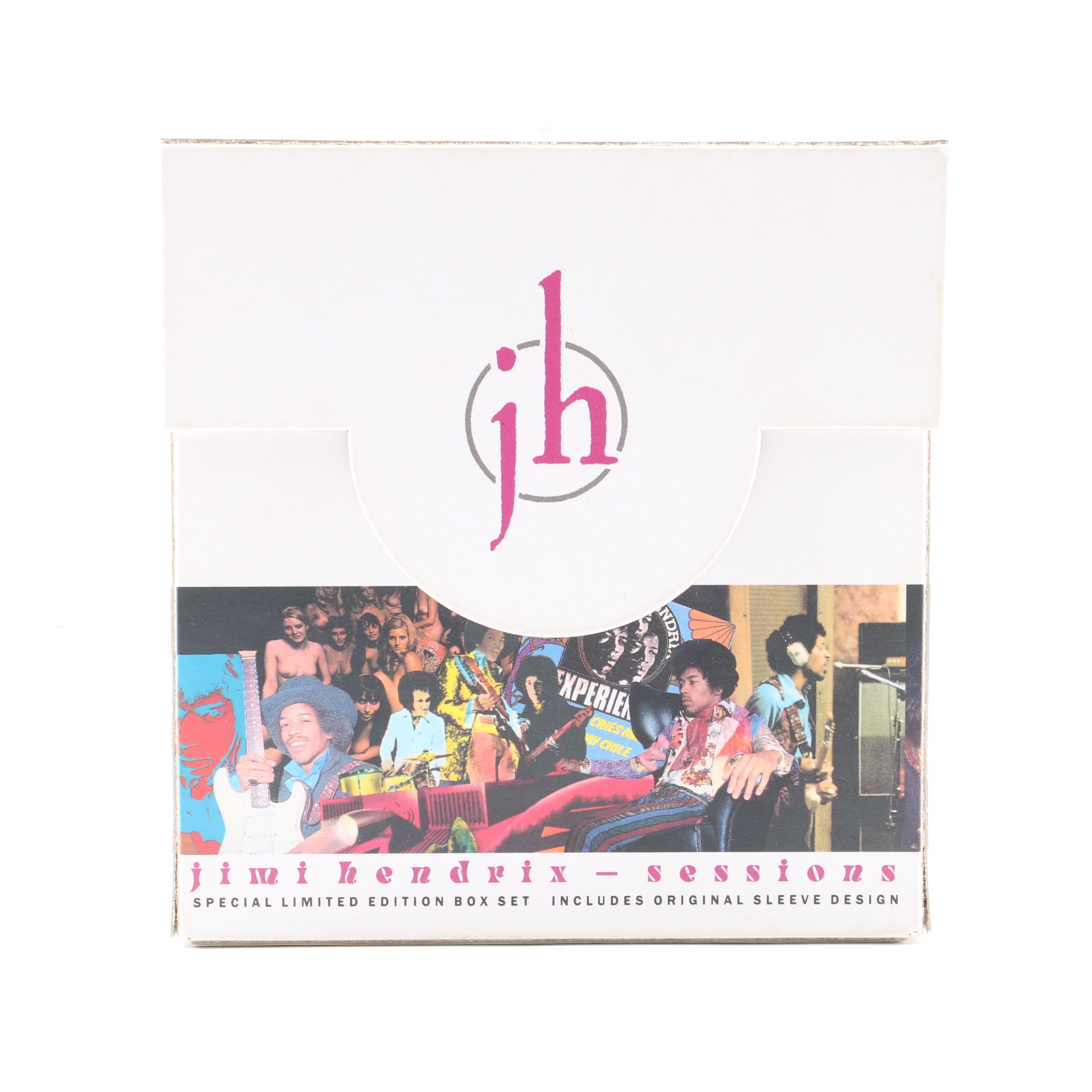 "Jimi Hendrix ""Sessions"" Limited Edition Box Set"