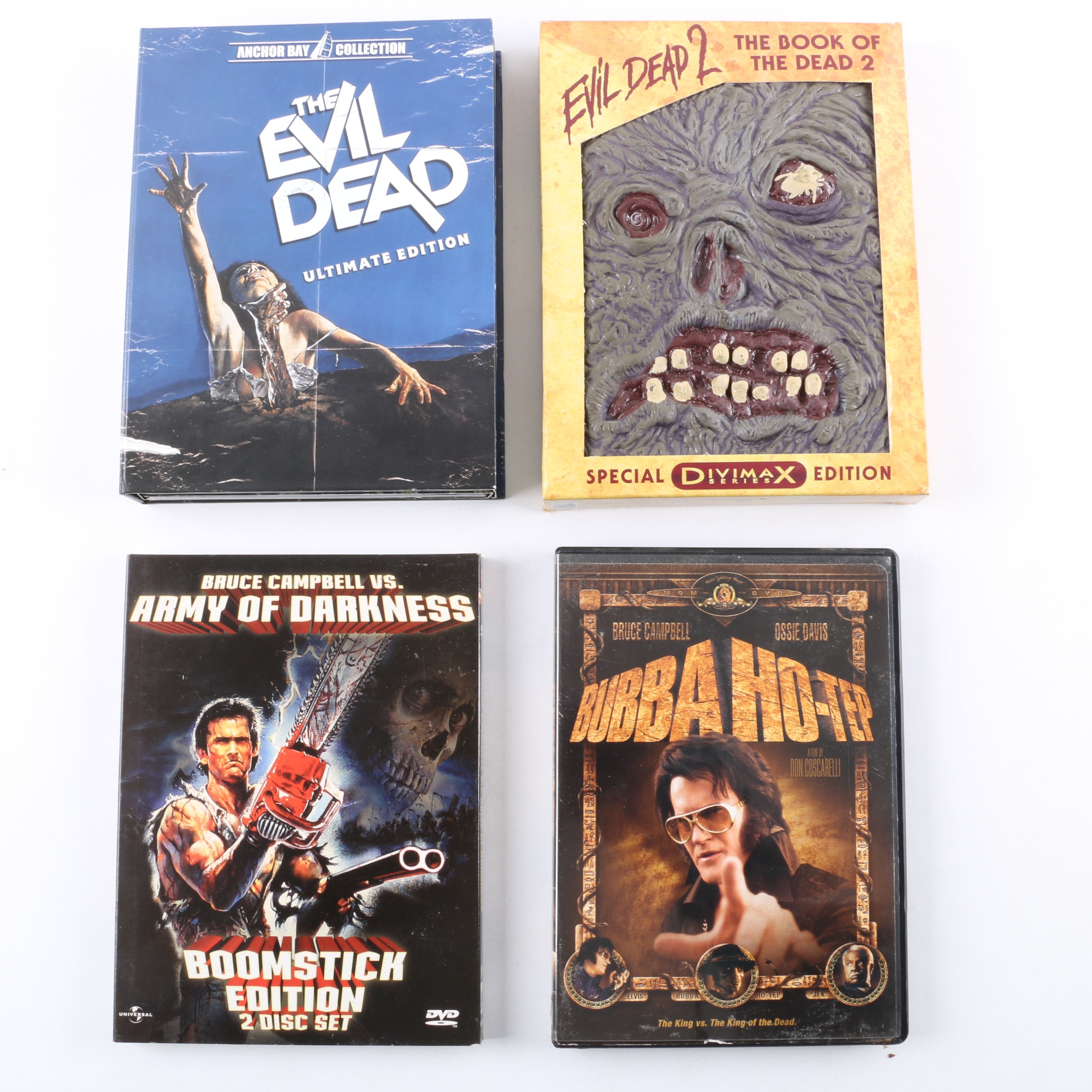 """Bruce Campbell """"Evil Dead"""" Series DVDs Including Ultimate and Divimax Editions"""