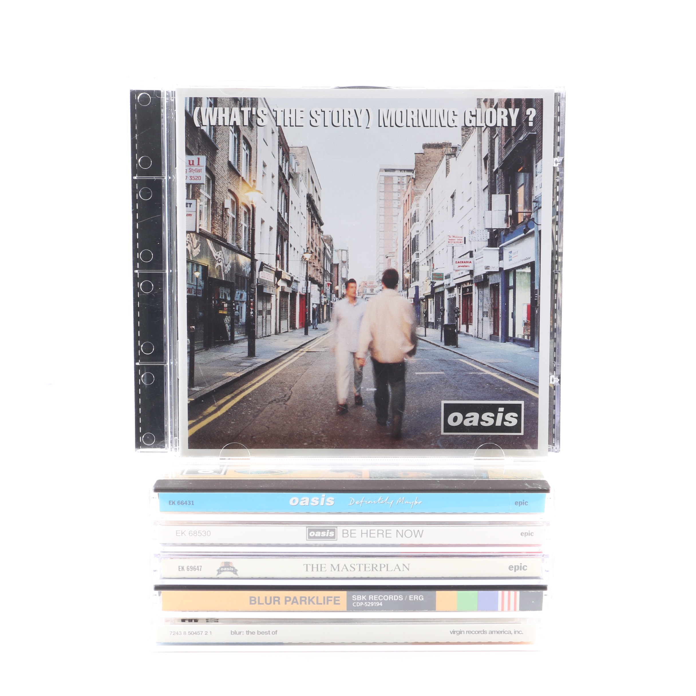 """Oasis & Blur Collection Including """"Definitely Maybe"""" & """"Parklife"""""""