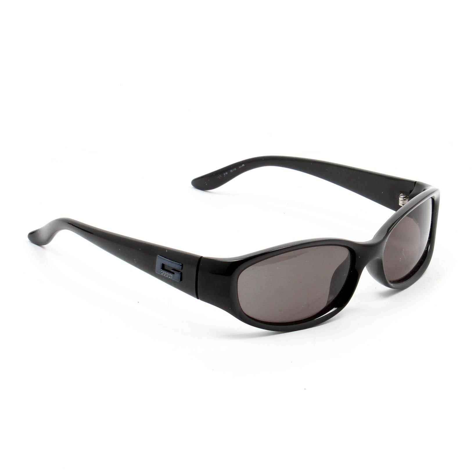 Gucci Black Acetate Sunglasses