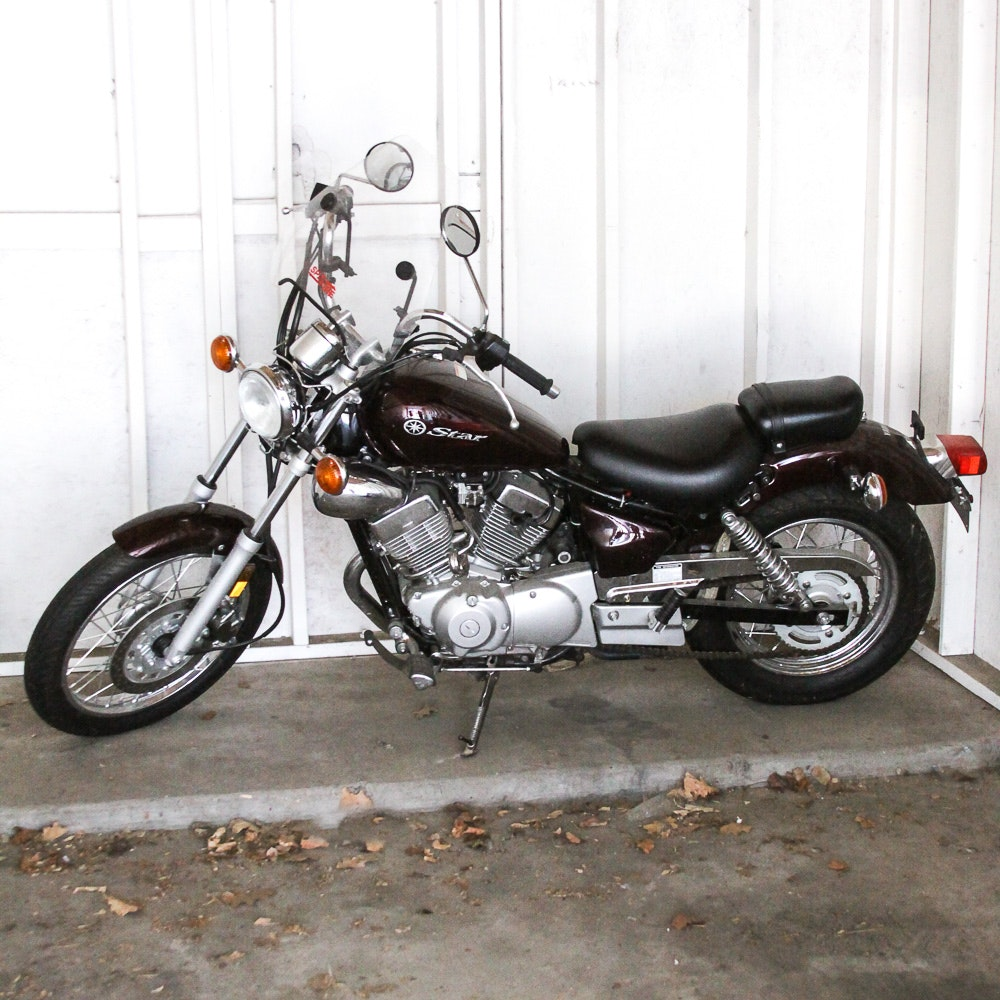 2008 Yamaha V Star 250 Motorcycle