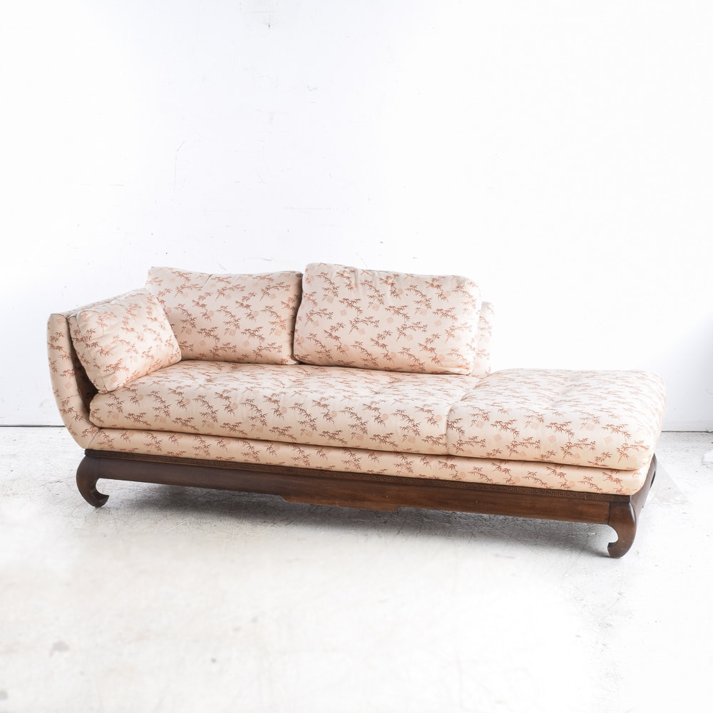 Chinese Inspired Chaise Lounge