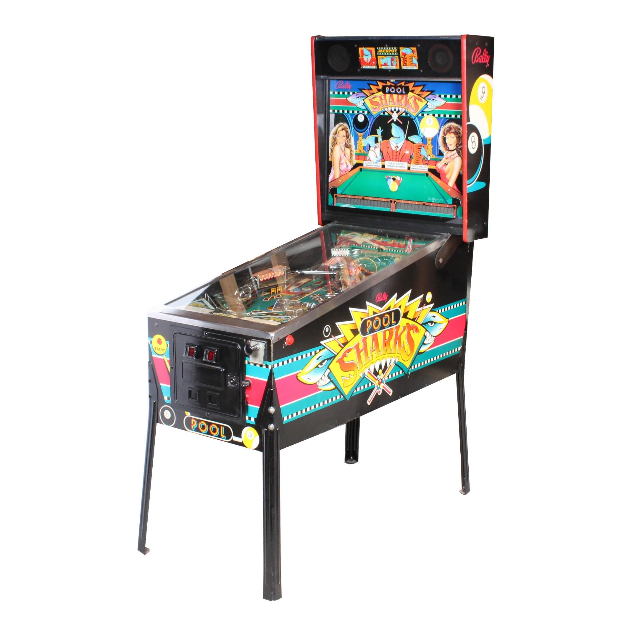 "Bally ""Pool Sharks"" Pinball Machine"