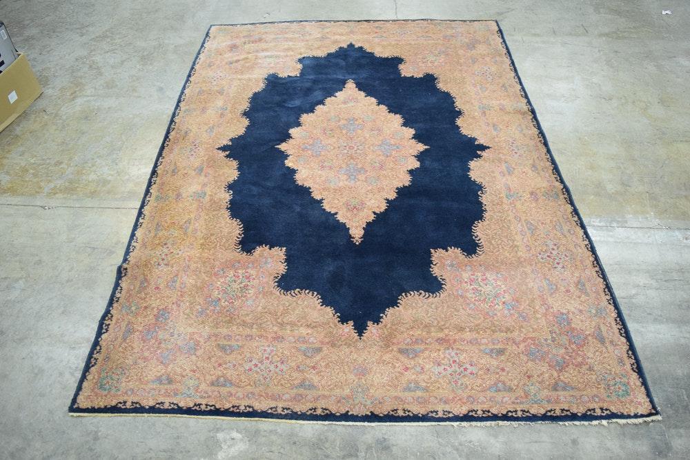"""Vintage Karastan """"Kirman"""" Wool Area Rug"""