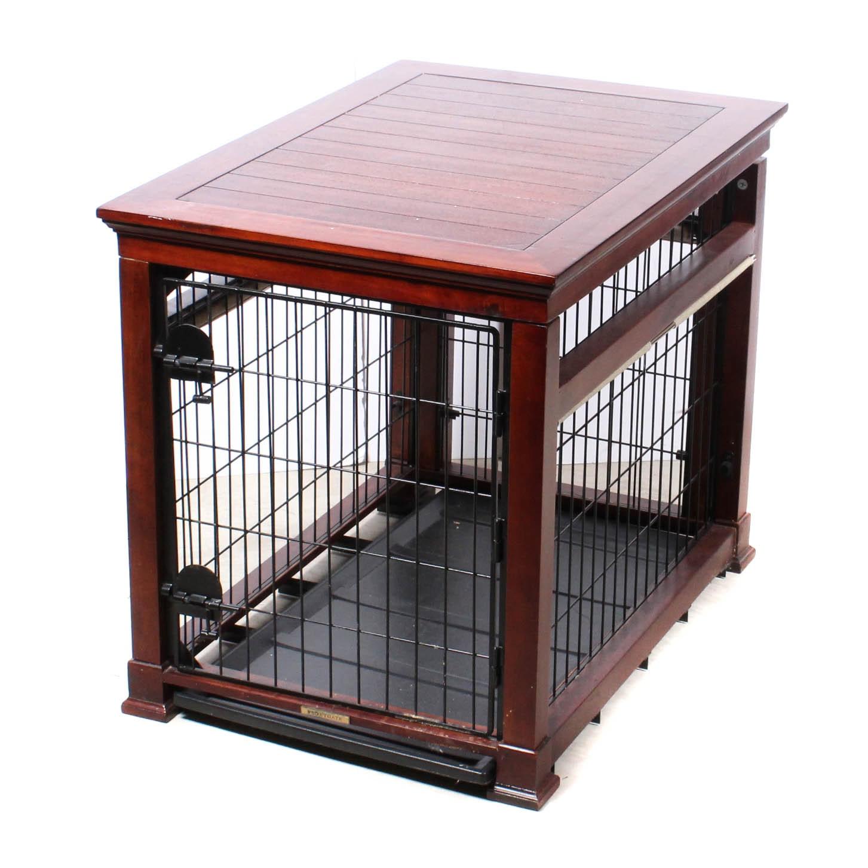 Frontgate Wood Framed Dog Kennel