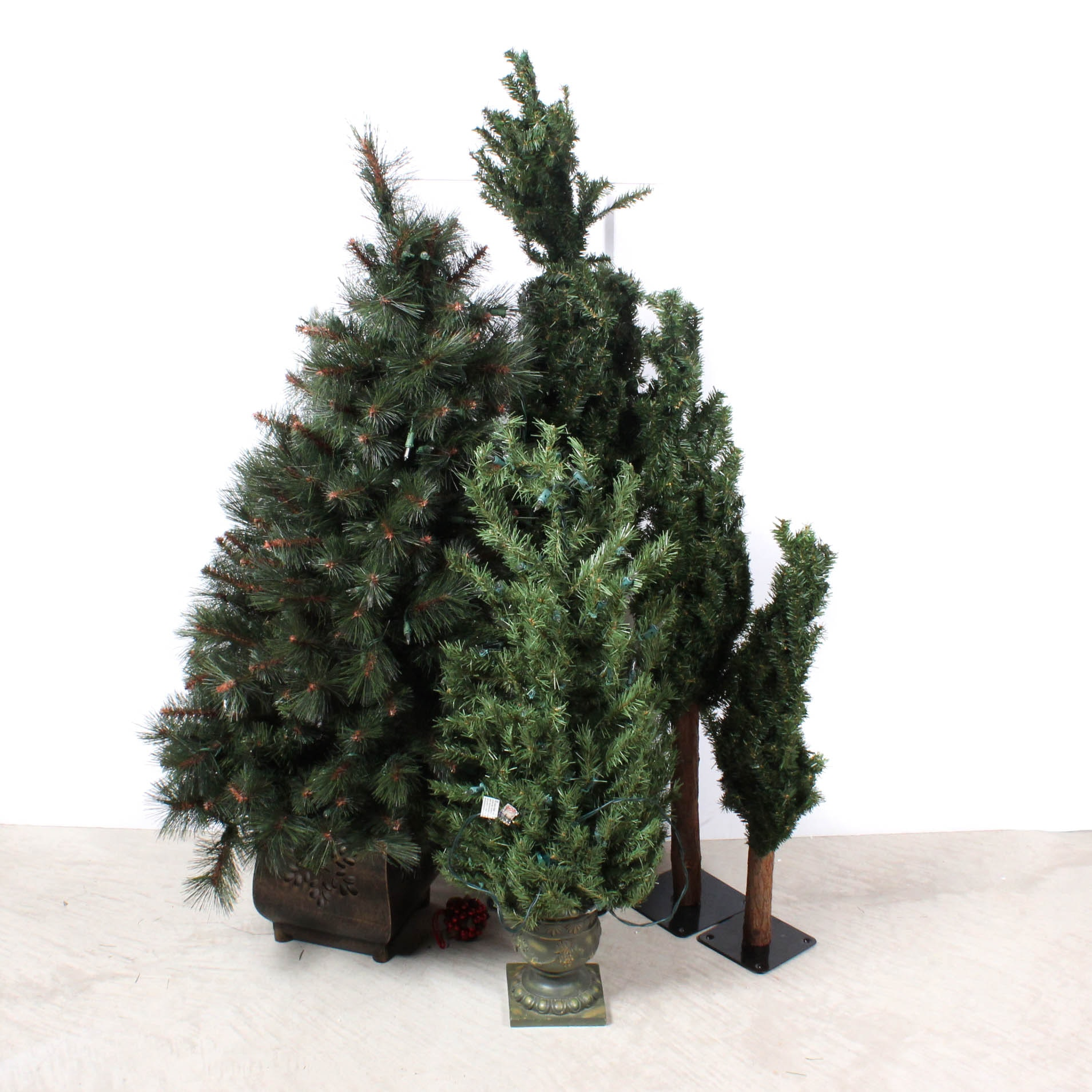 Small Scale Faux Christmas Trees
