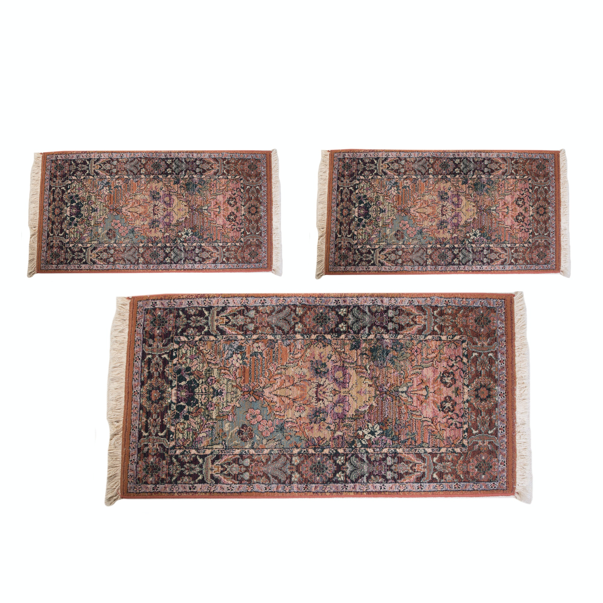 Persian Style Synthetic Area and Accent Rugs