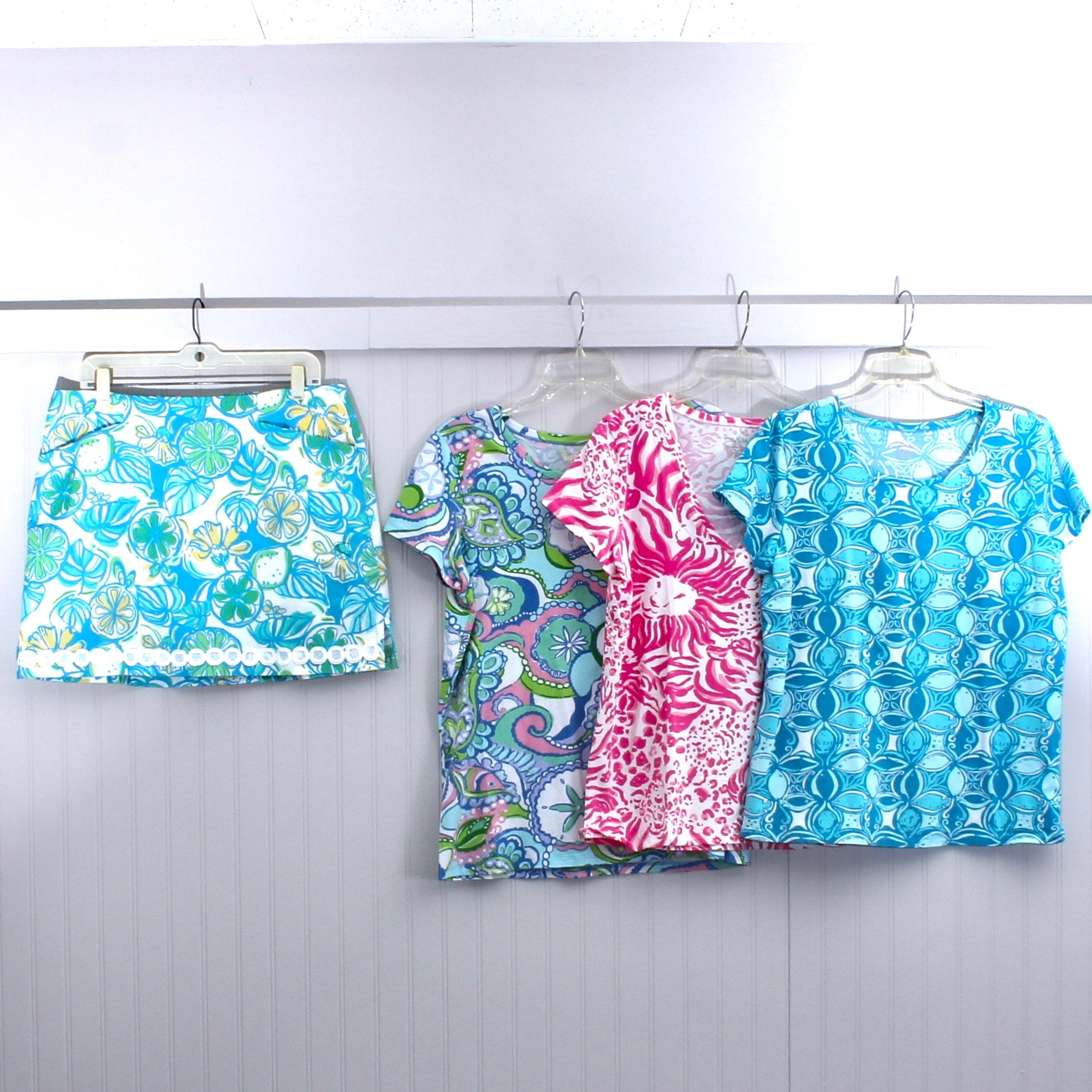 Women's Lilly Pulitzer Tops and Skirt