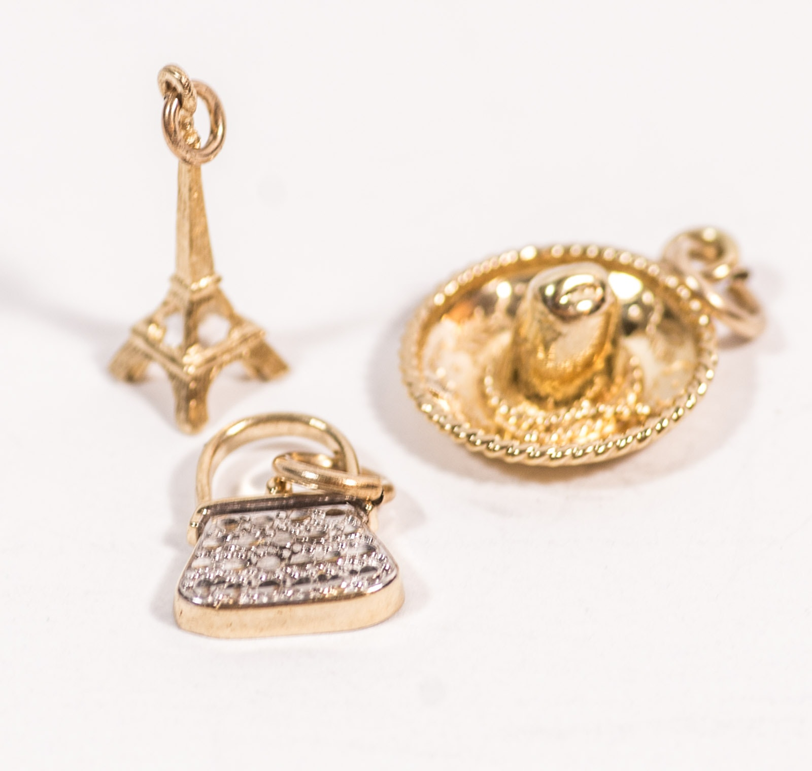 18K Yellow Gold Charms