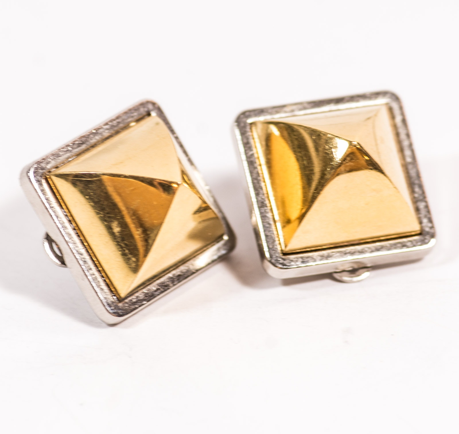 Vintage Hermès Clip-On Earrings