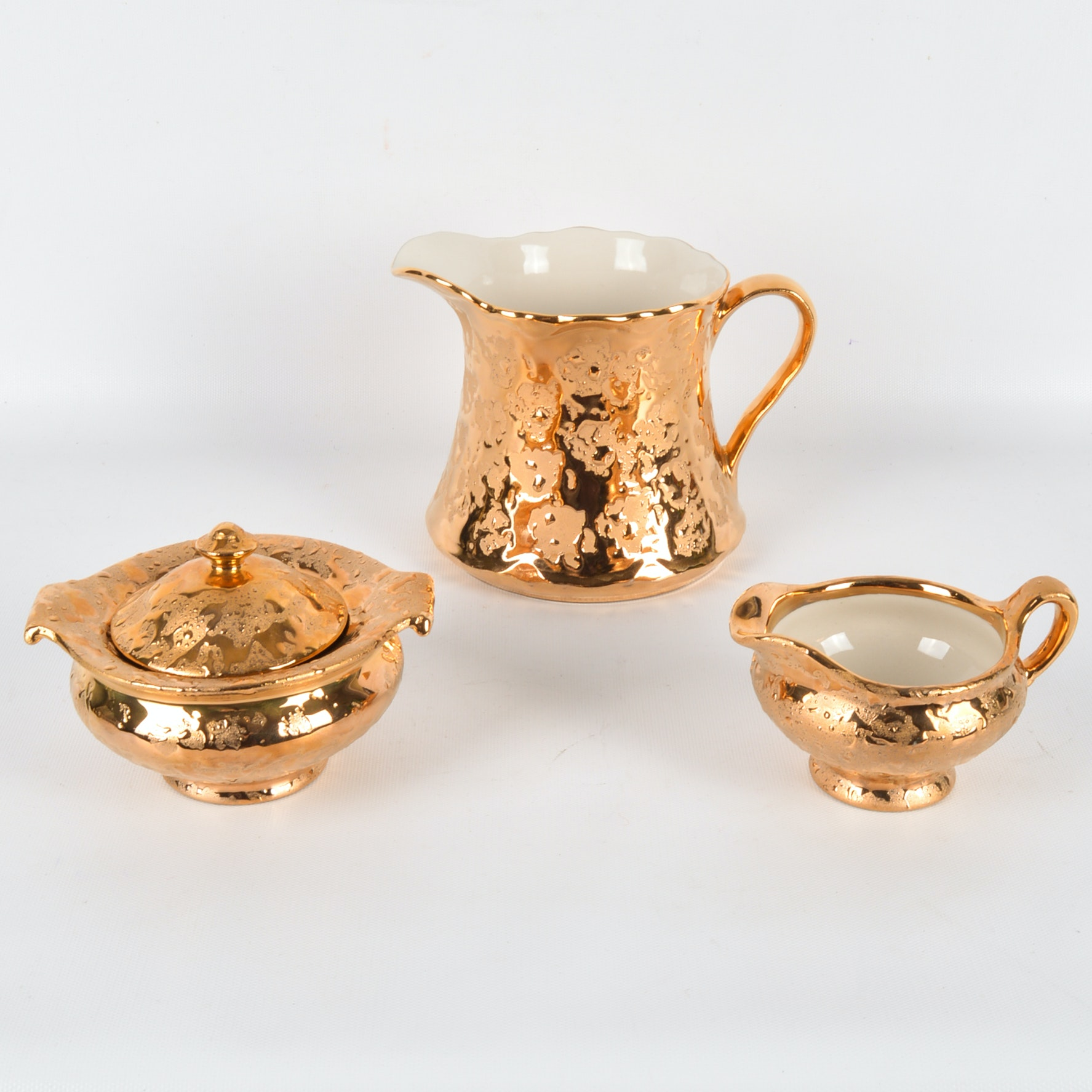 Dixon Weeping Gold 22K Decorated Tableware