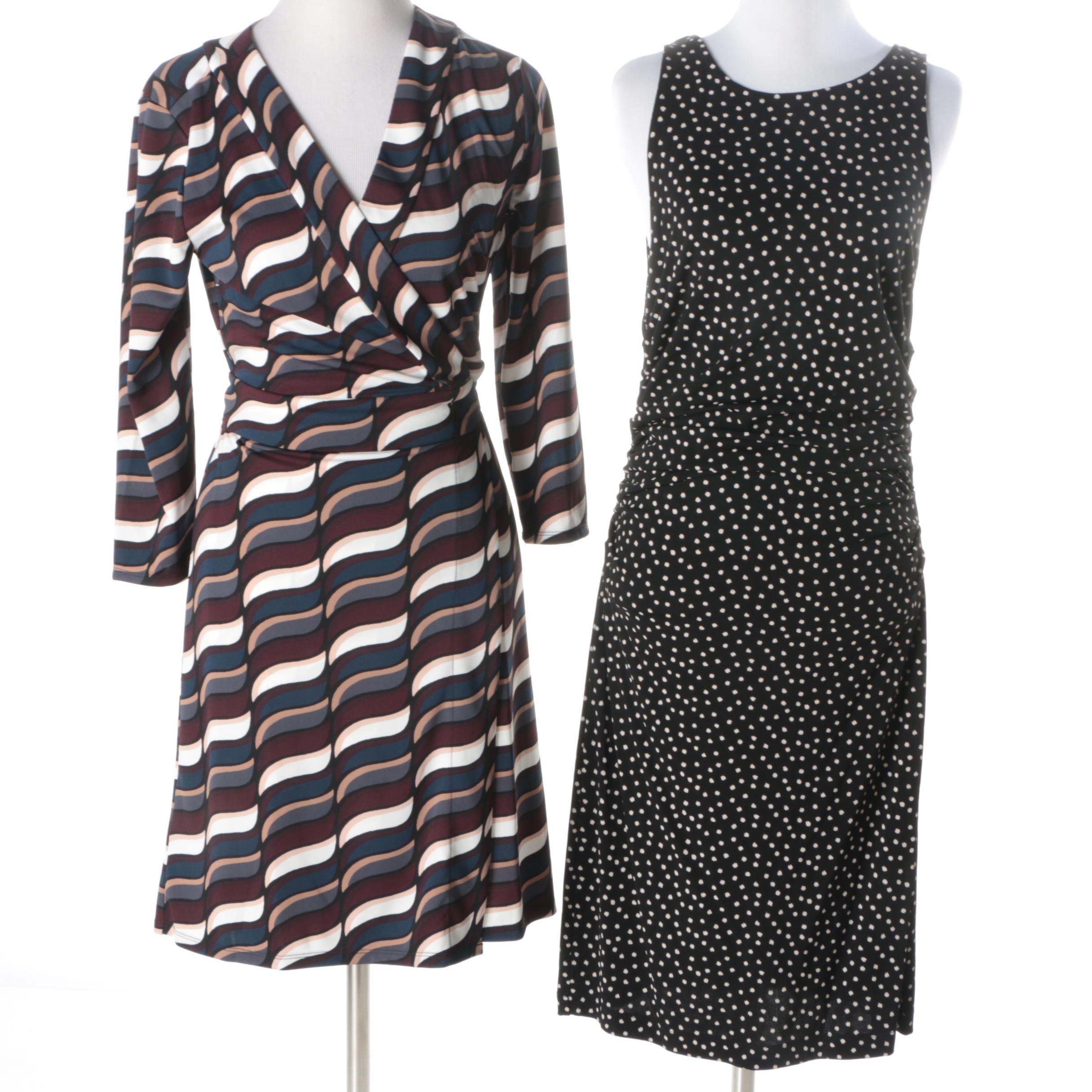 Ann Taylor Printed Dresses