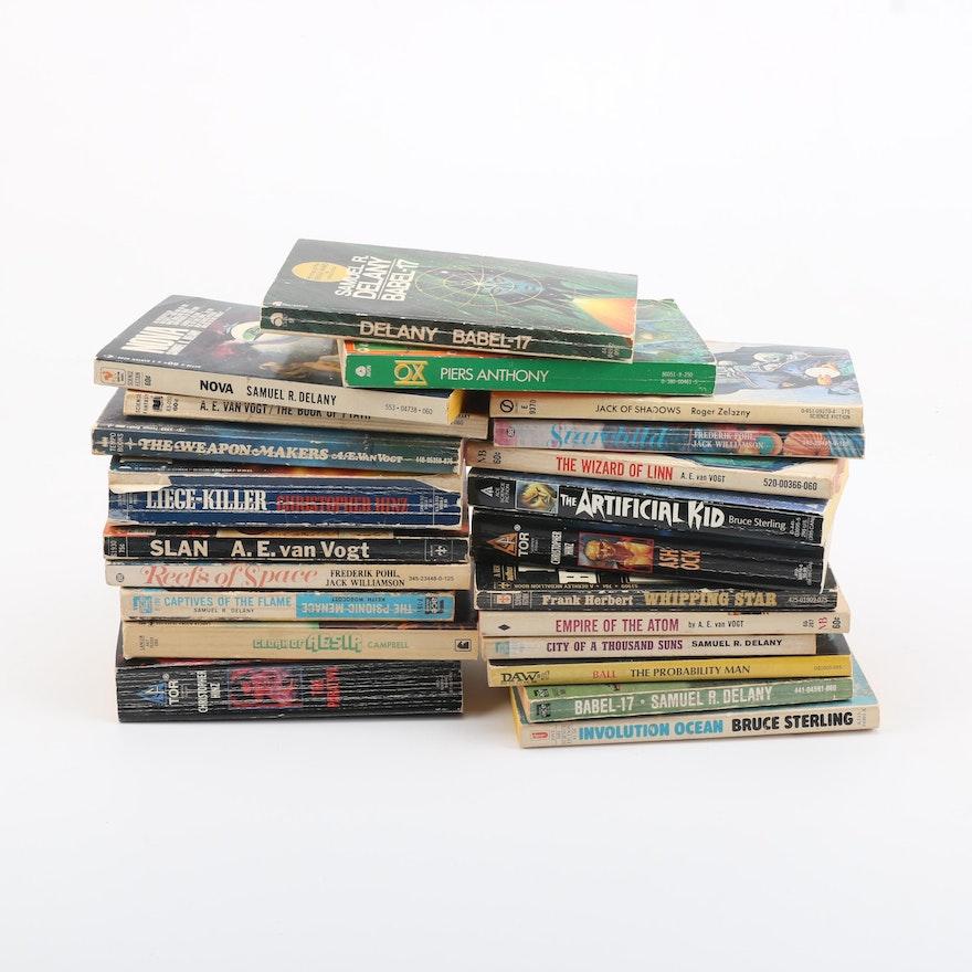 Assorted Science Fiction Novels Ebth