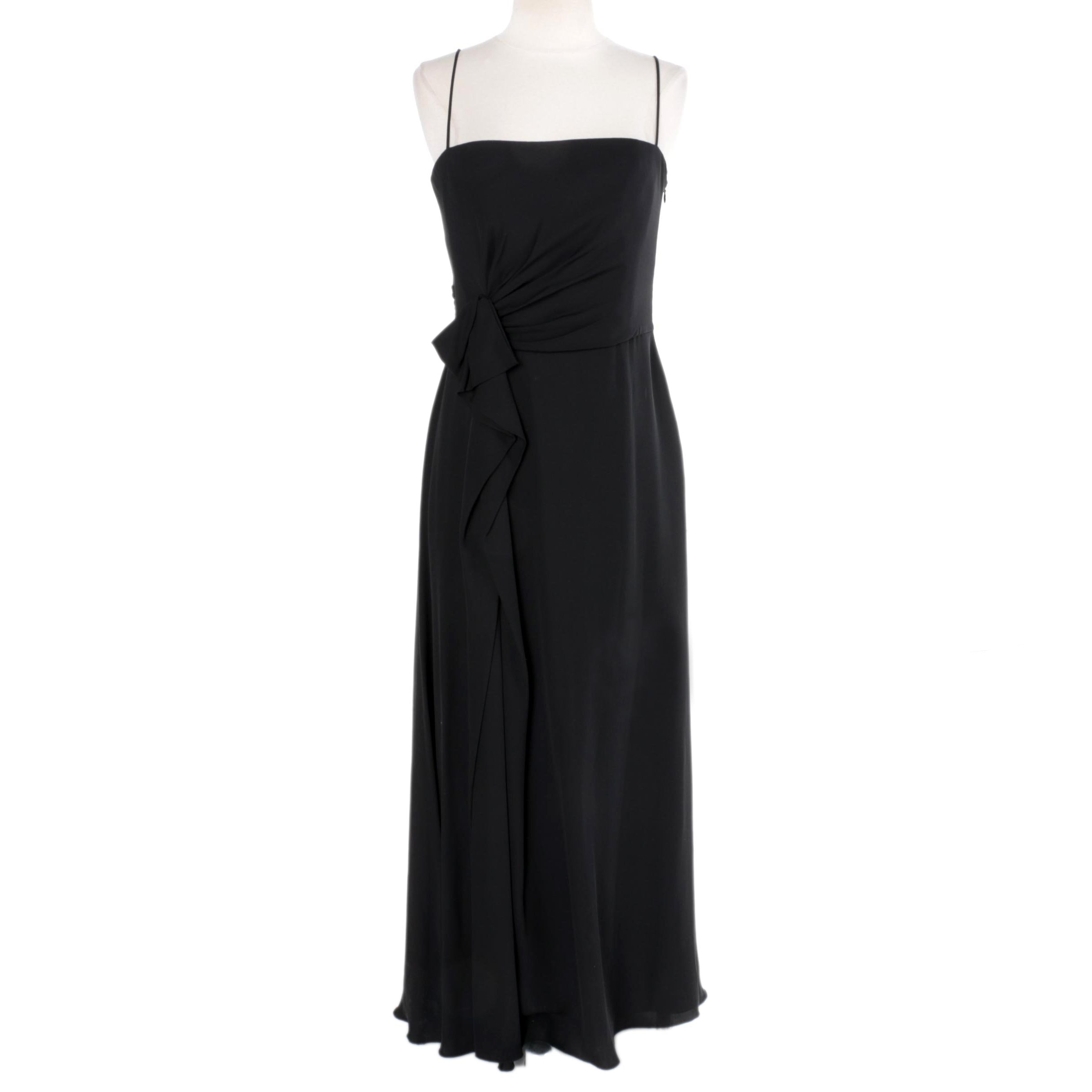 Armani Collezioni Black Sleeveless Dress