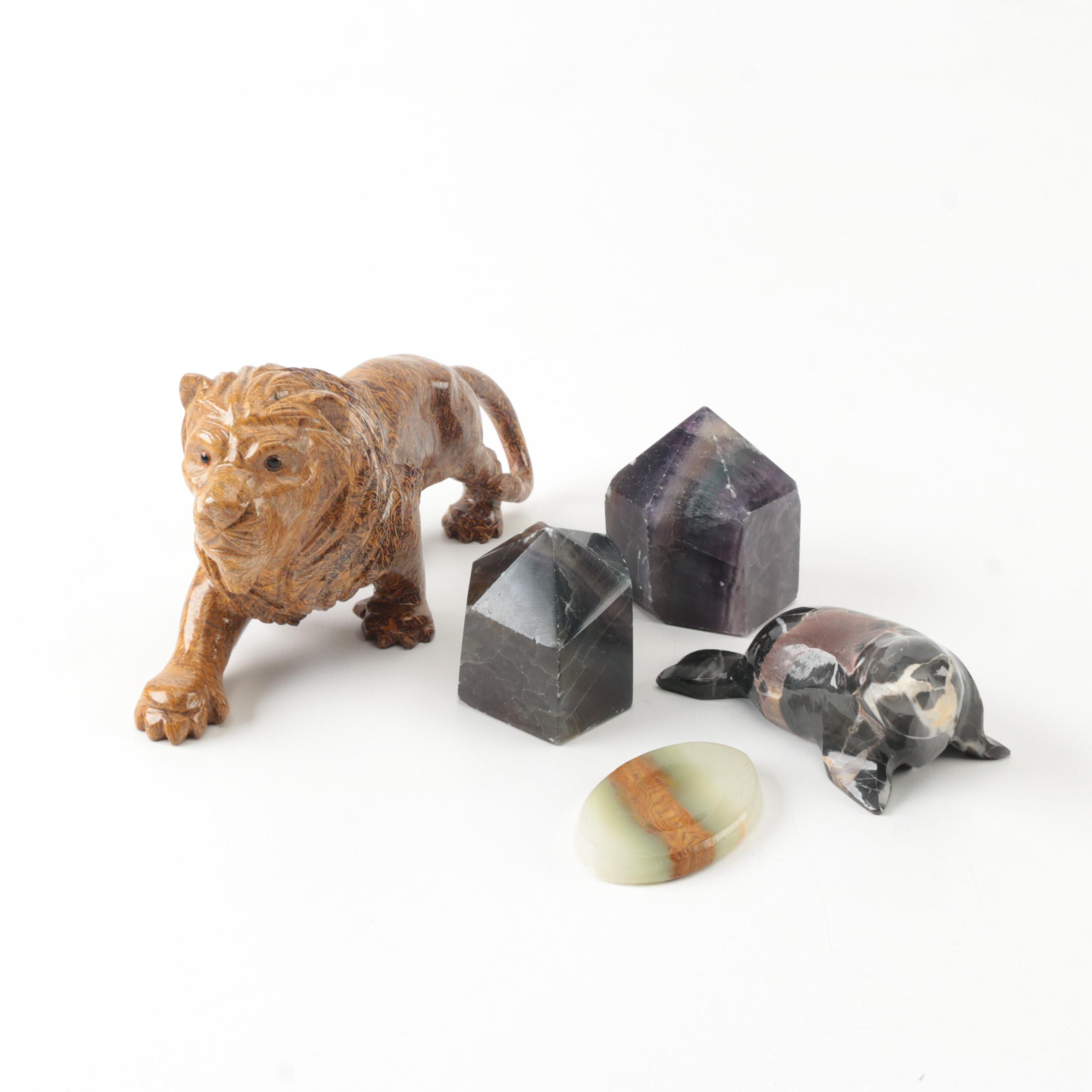 Mineral Figurines and Specimens