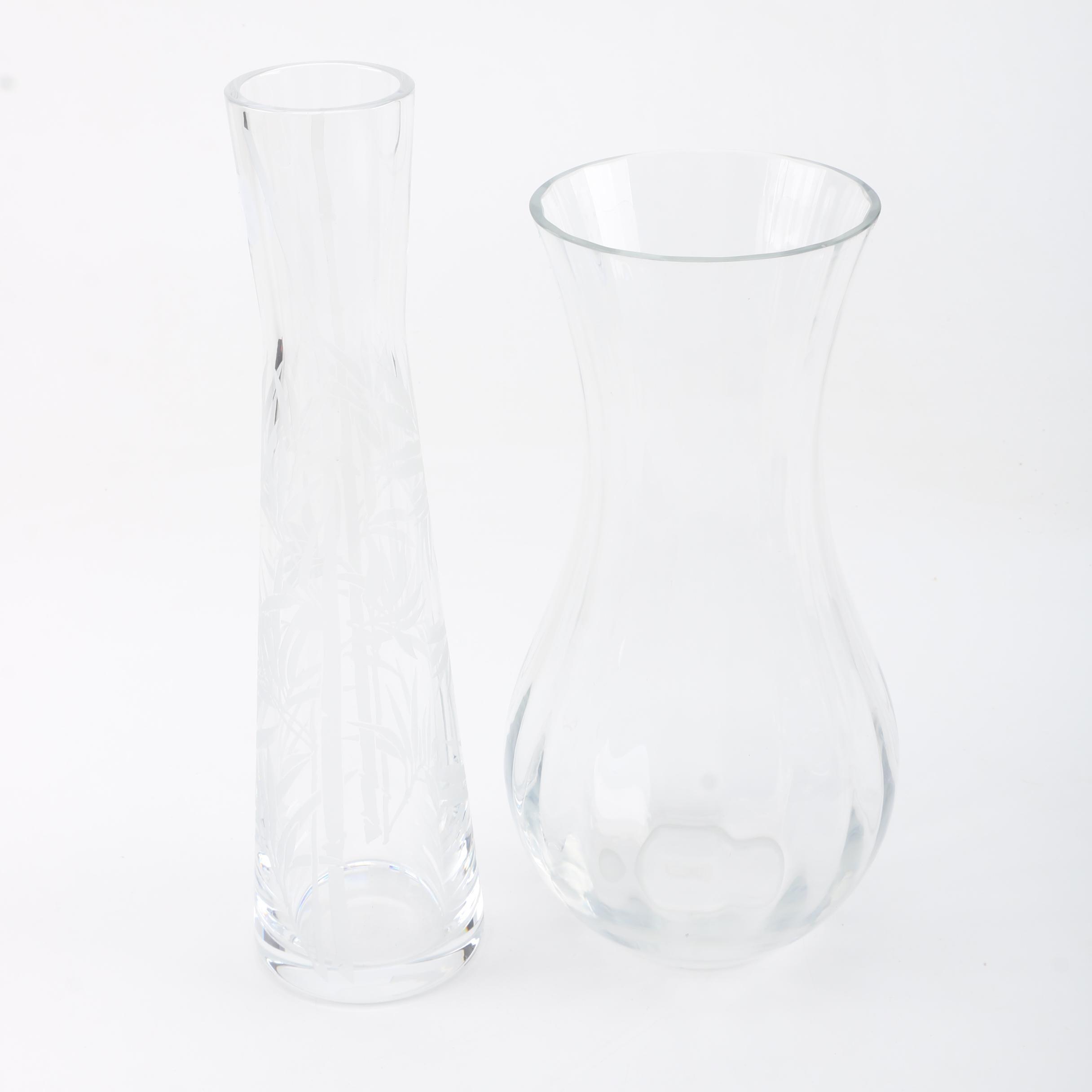 Baccarat Crystal Vases