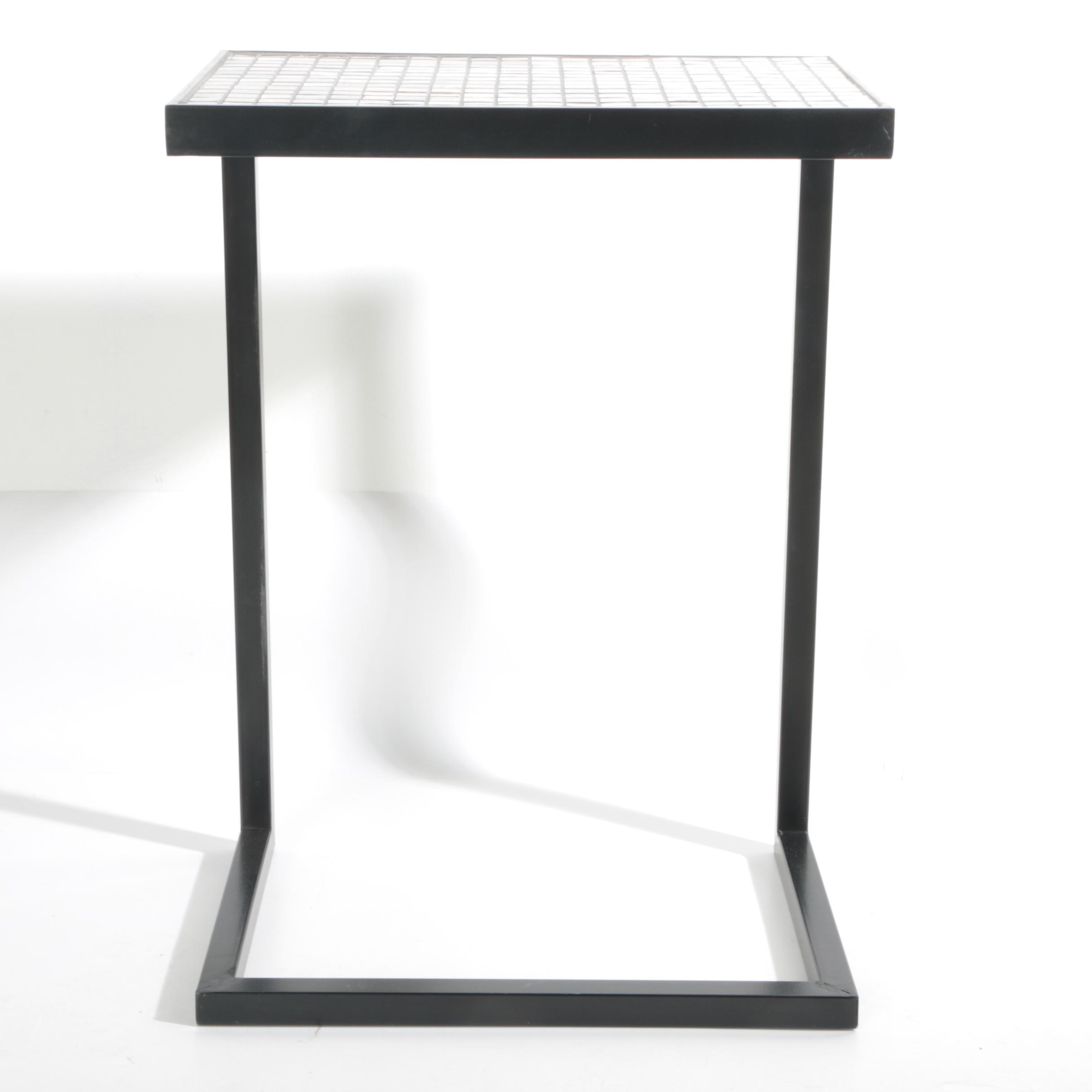 Contemporary Tiled Side Table from Pier 1 Imports
