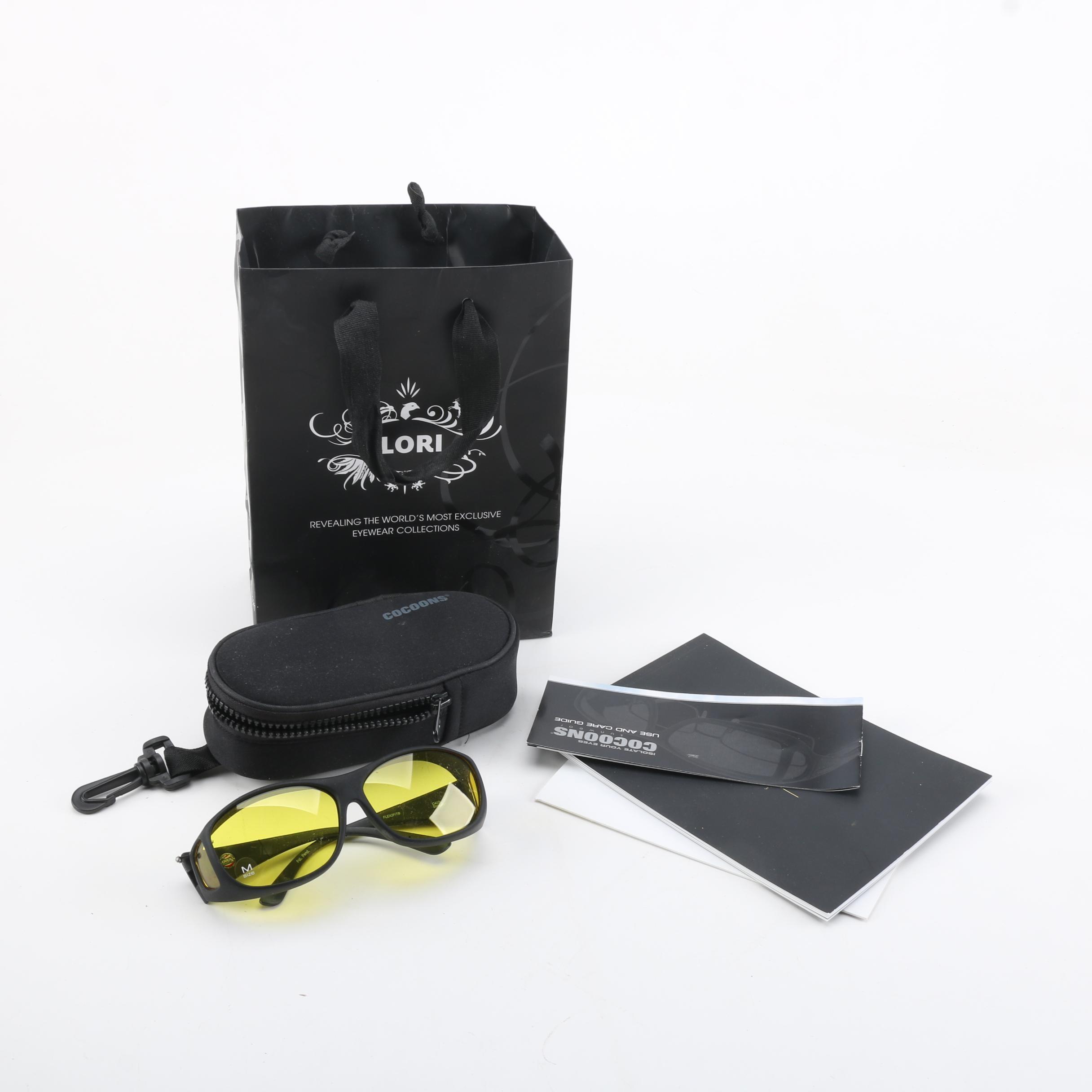 Cocoons Flex2fit Slim Line Sunglasses with Case
