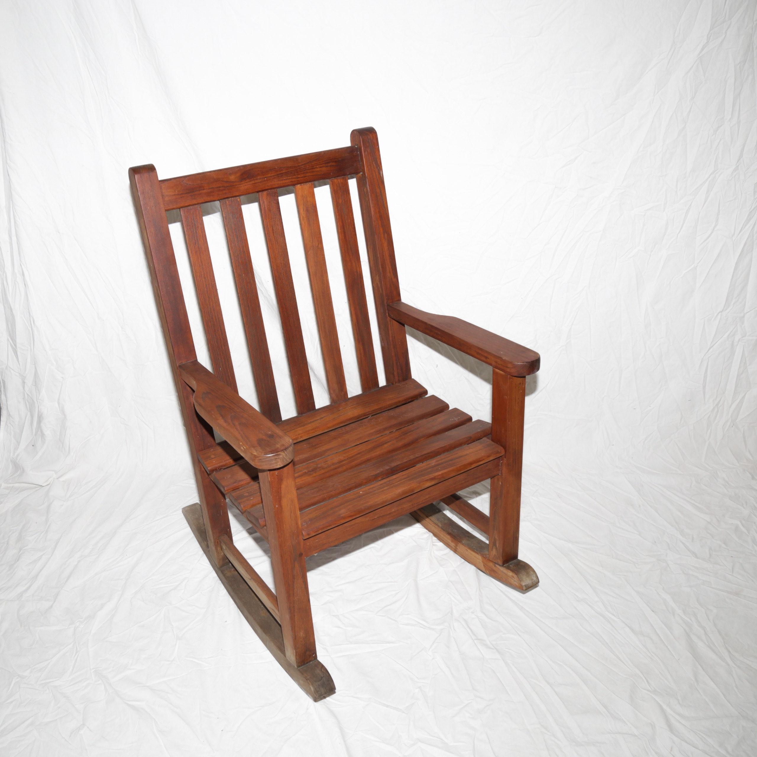 Wood Classics Inc. Outdoor Teak Rocking Chair