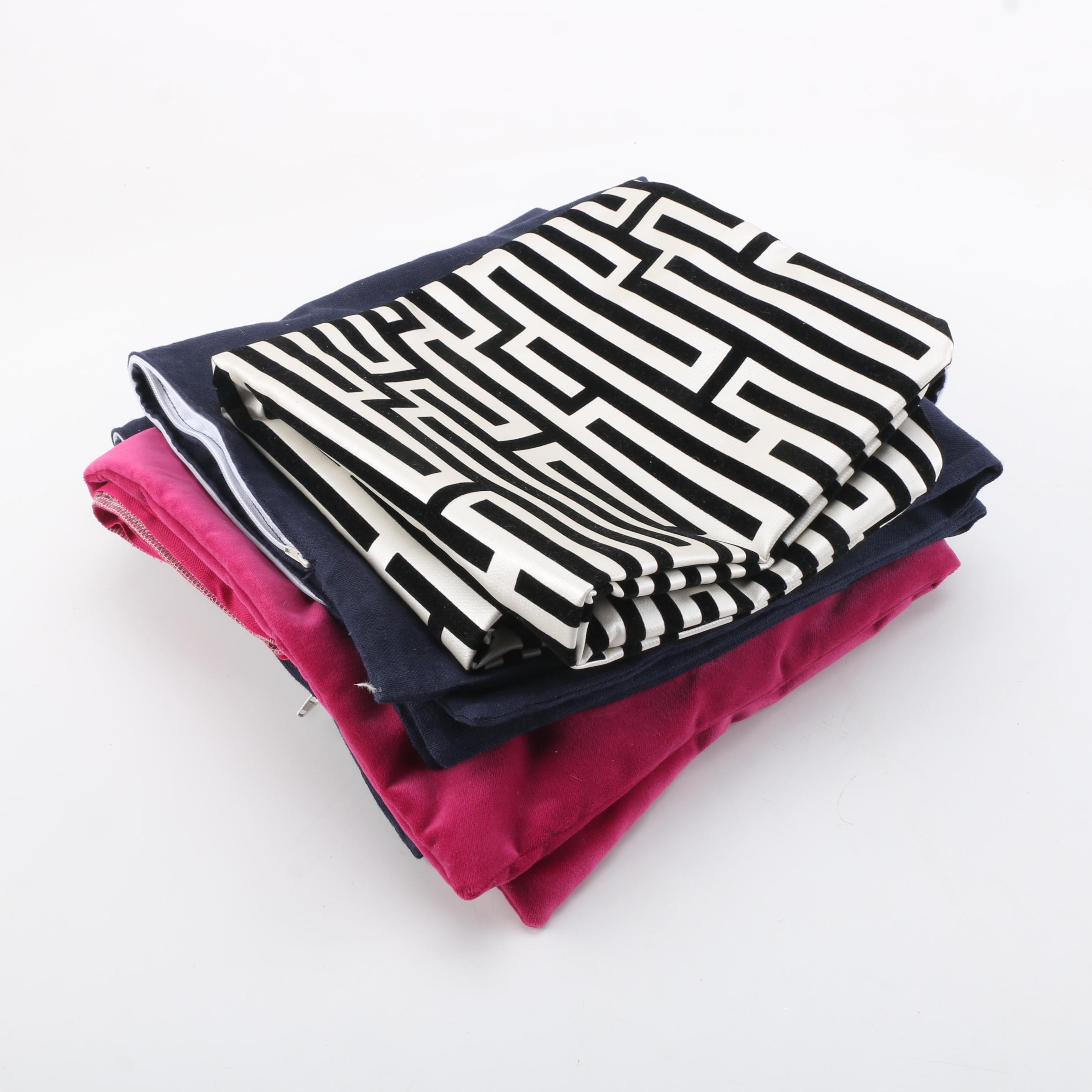 Bold Contemporary Accent Pillow Covers